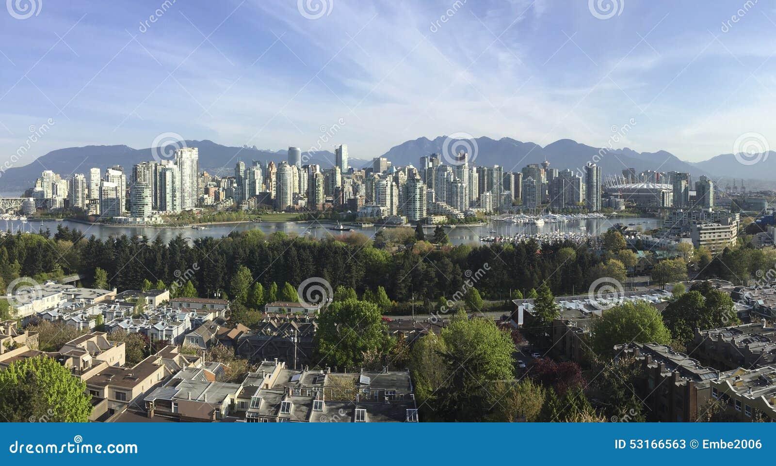 Vancouver city buildings