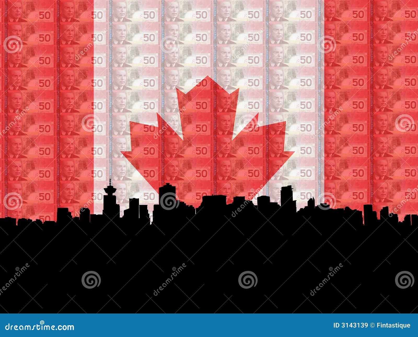 Vancouver con valuta della bandierina