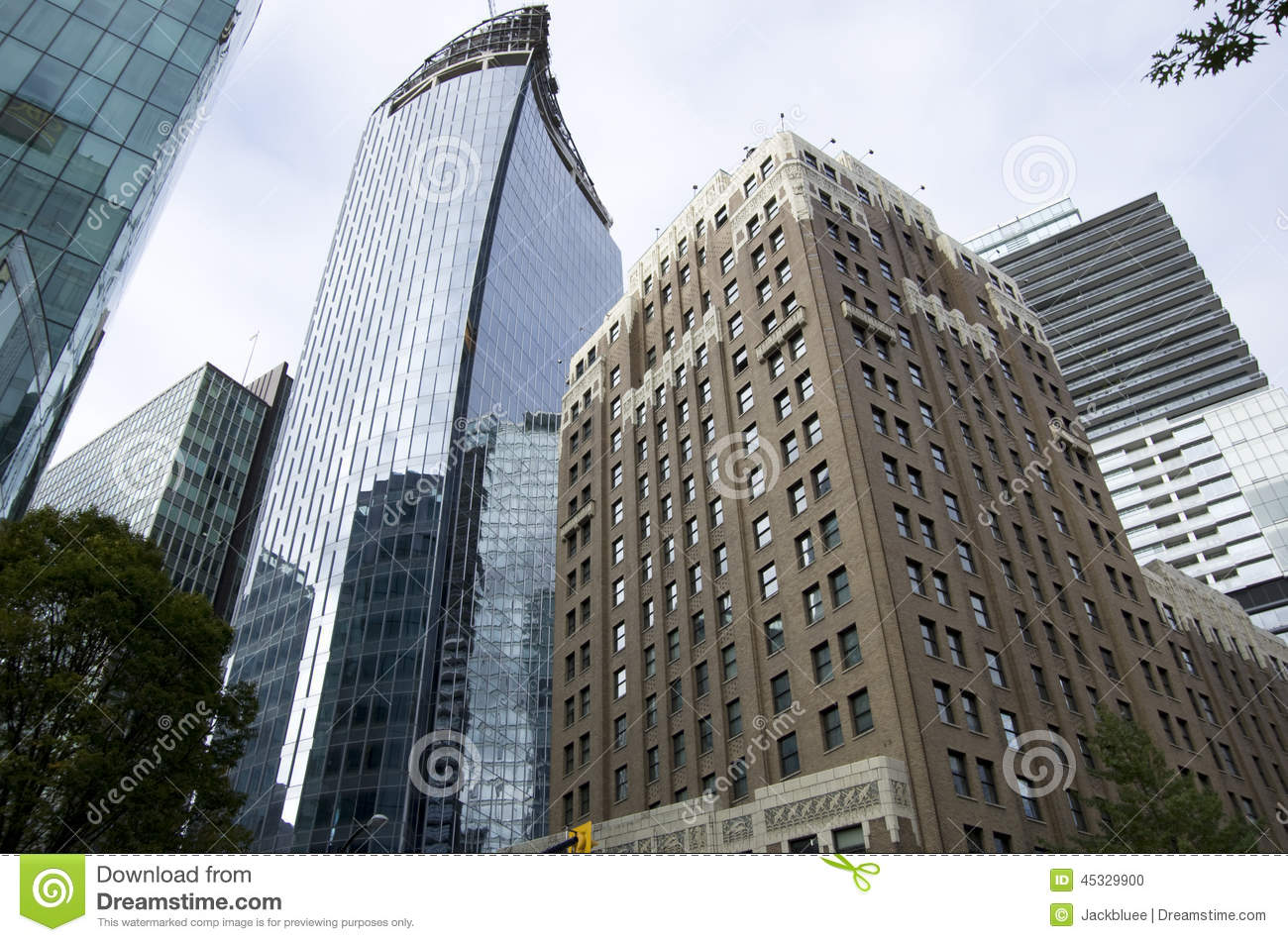 Vancouver downtown buildings stock photo image 45329900 - Immense maison vacances new york ss mm design ...