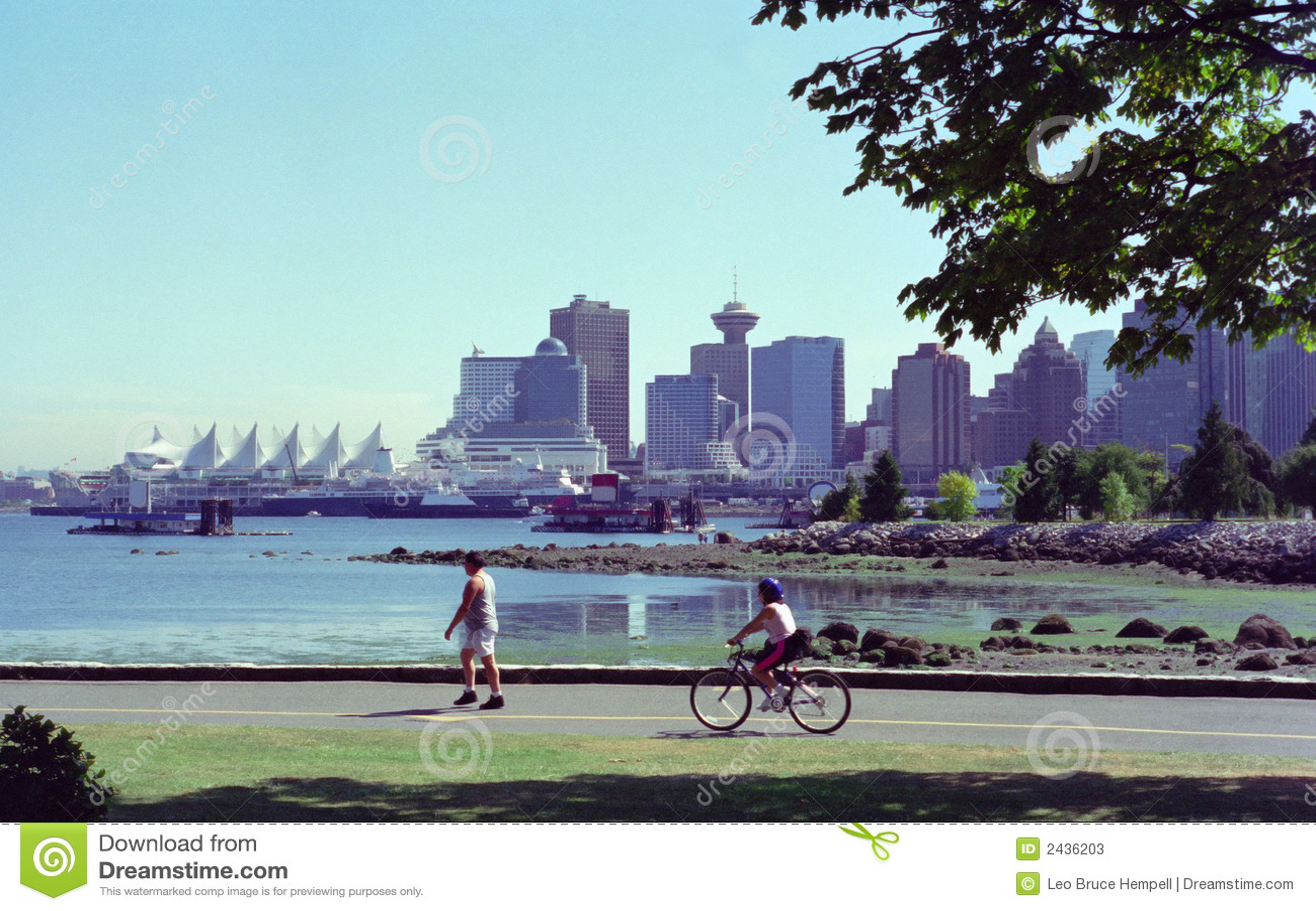 Vancouver Harbor British Columbia Canada