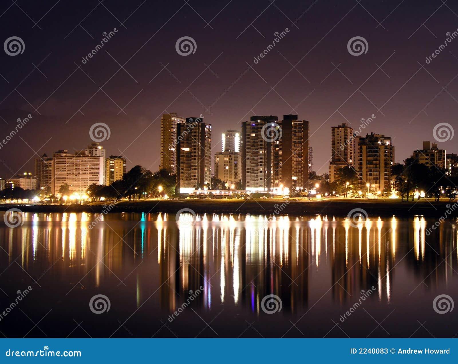 Vancouver la nuit