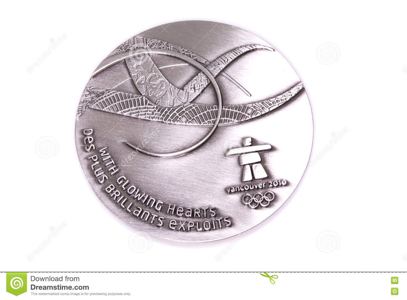 Vancouver 2010 Winter Olympic Games Participation Medal