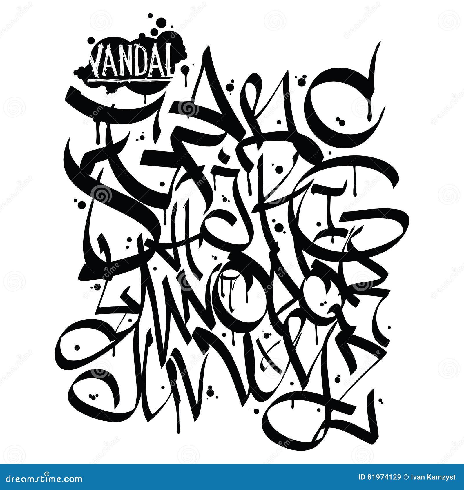 Vandale De Graffiti De Police Illustration De Vecteur Illustration