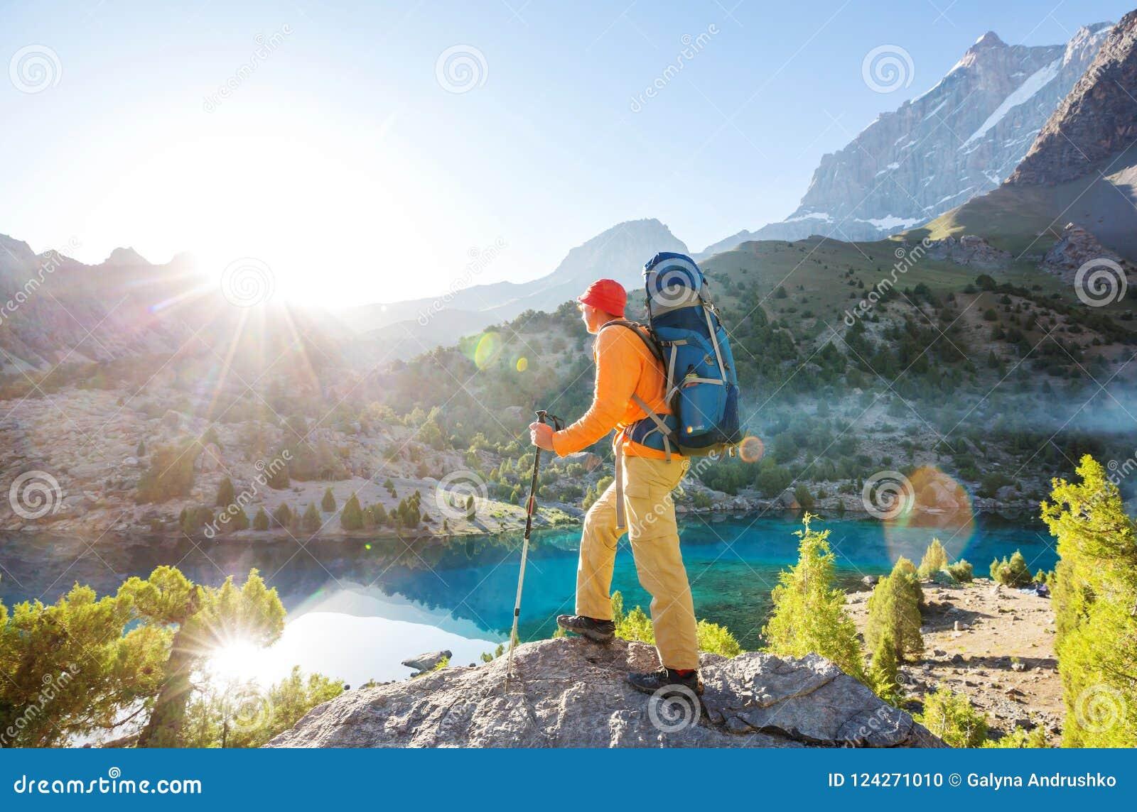 Vandring i Fann berg