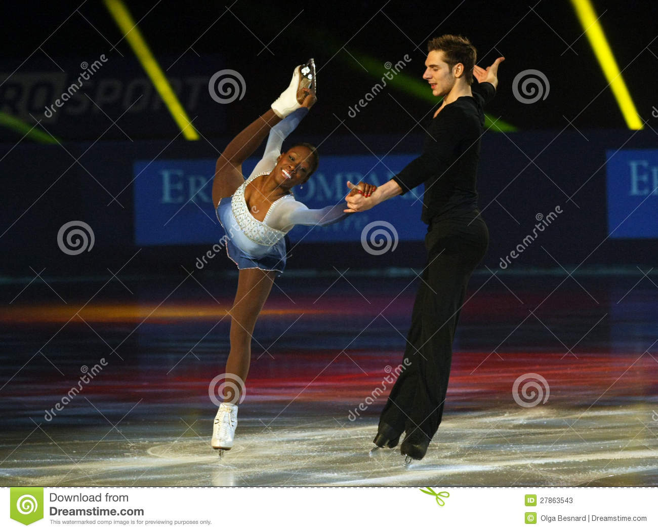 Vanessa JAMES/Morgan CIPRES (FRA)