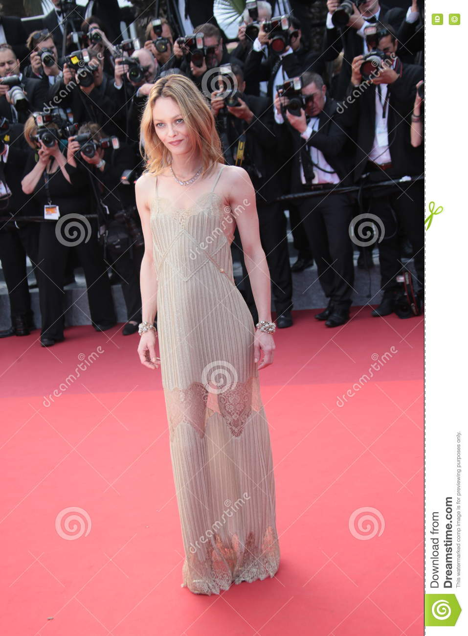 Download Vanessa Paradis editorial photo. Image of palais, premiere - 73836081