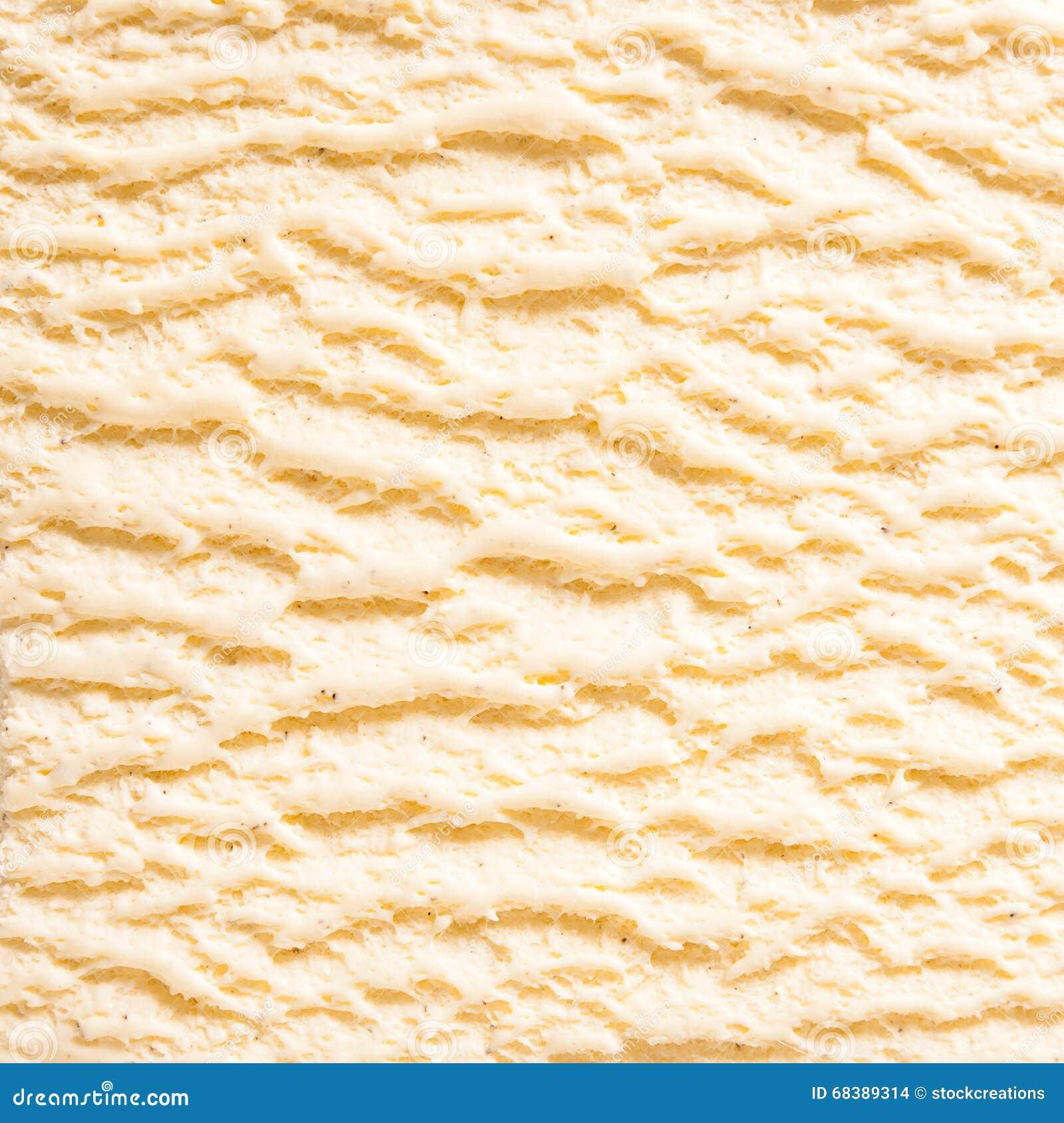 Vanilla Bourbon Ice Cream Detail Stock Photo - Image of ...