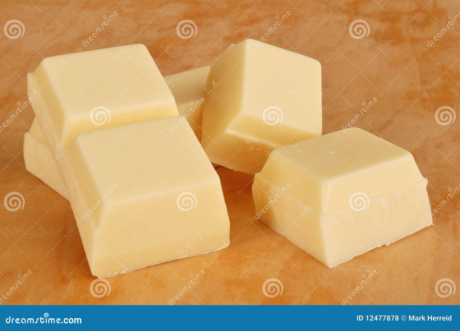 Vanilla Flavored Almond Bark (White Chocolate) Royalty Free Stock ...