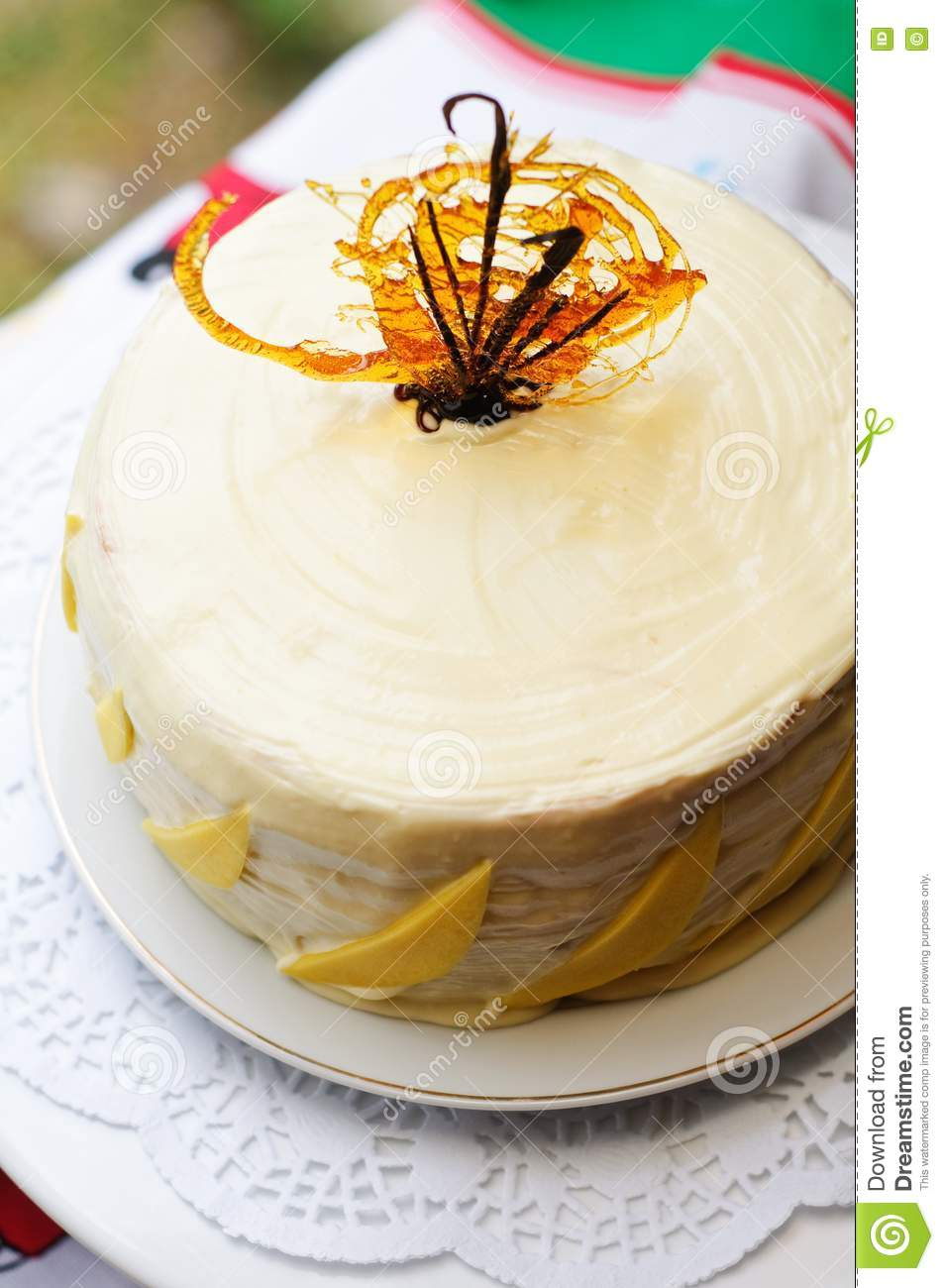 How To Make Mango Feather Cake