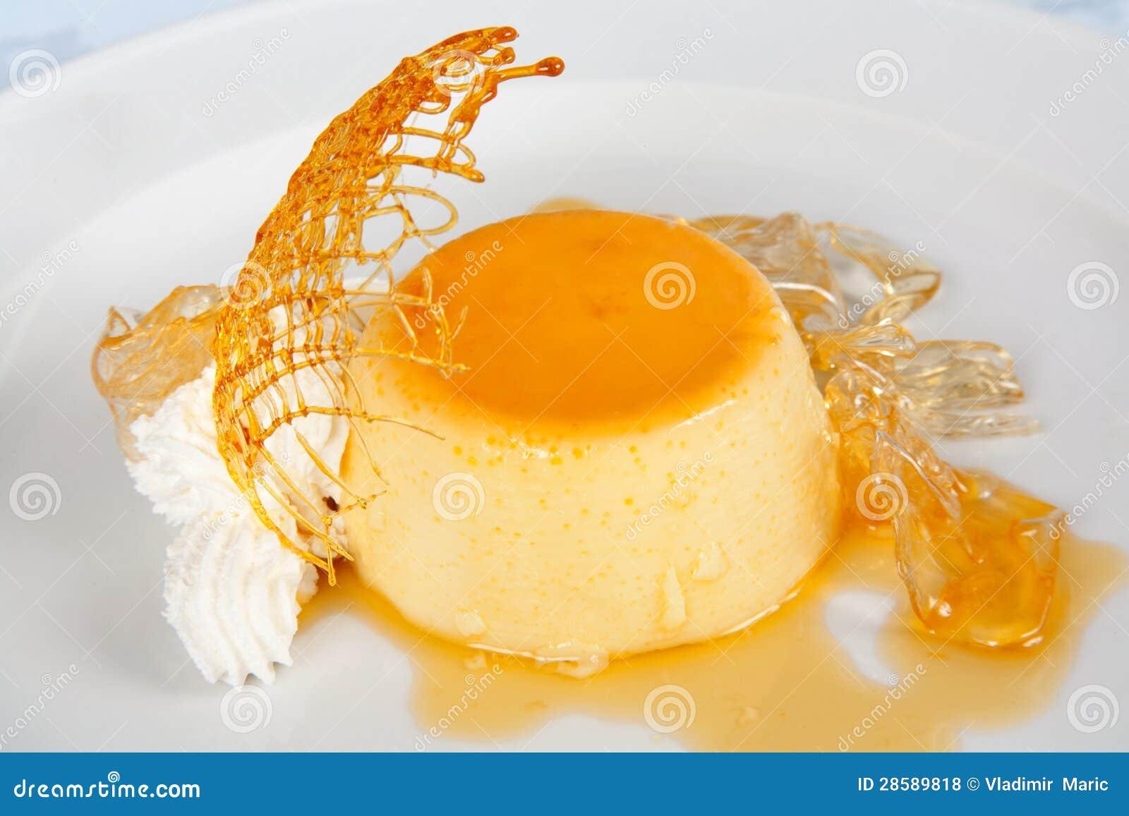 vanilla pudding whipped cream