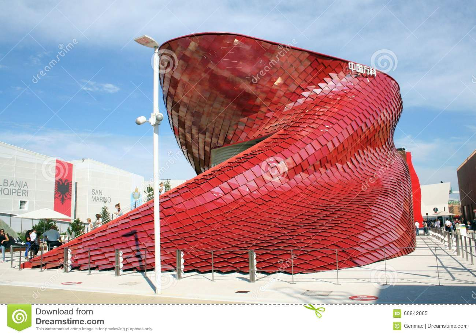 Vanke chinese pavillion expo milan 2015 editorial image for Esposizione universale expo milano 2015