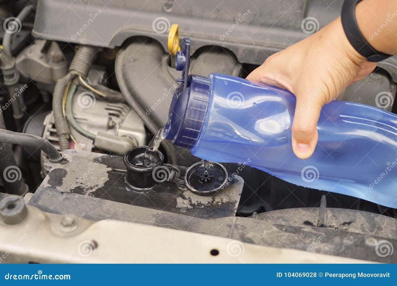 Vano motore sporco dell automobile di controllo del liquido refrigerante
