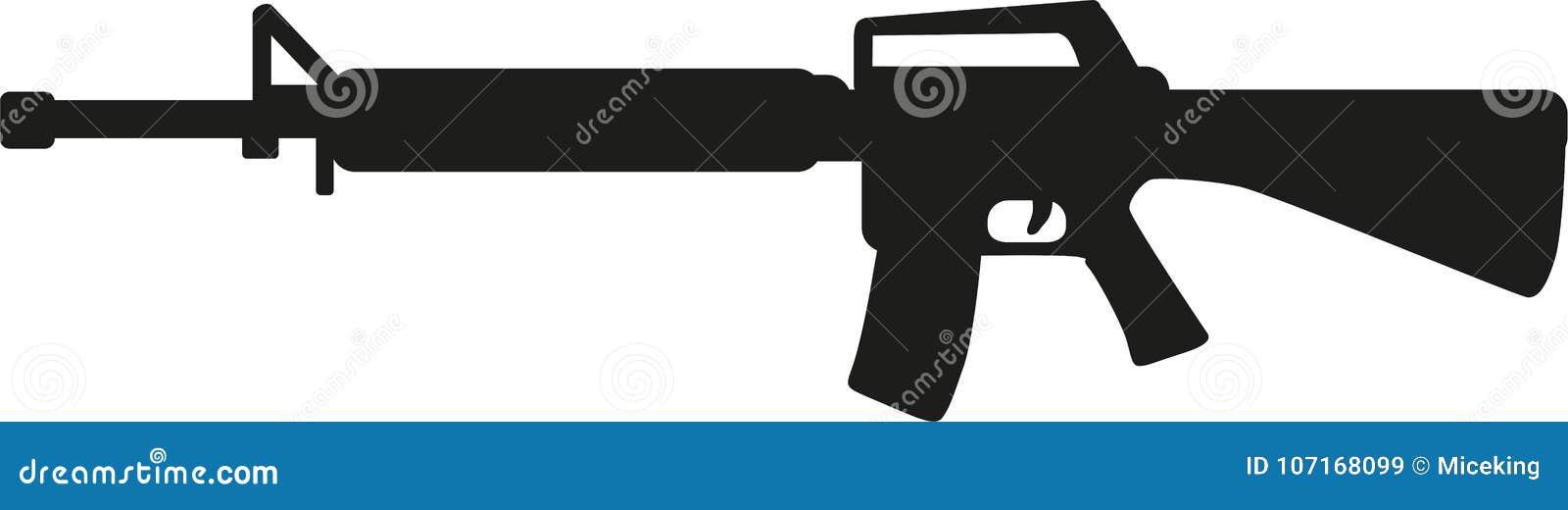 Vapen för prickskyttgevär