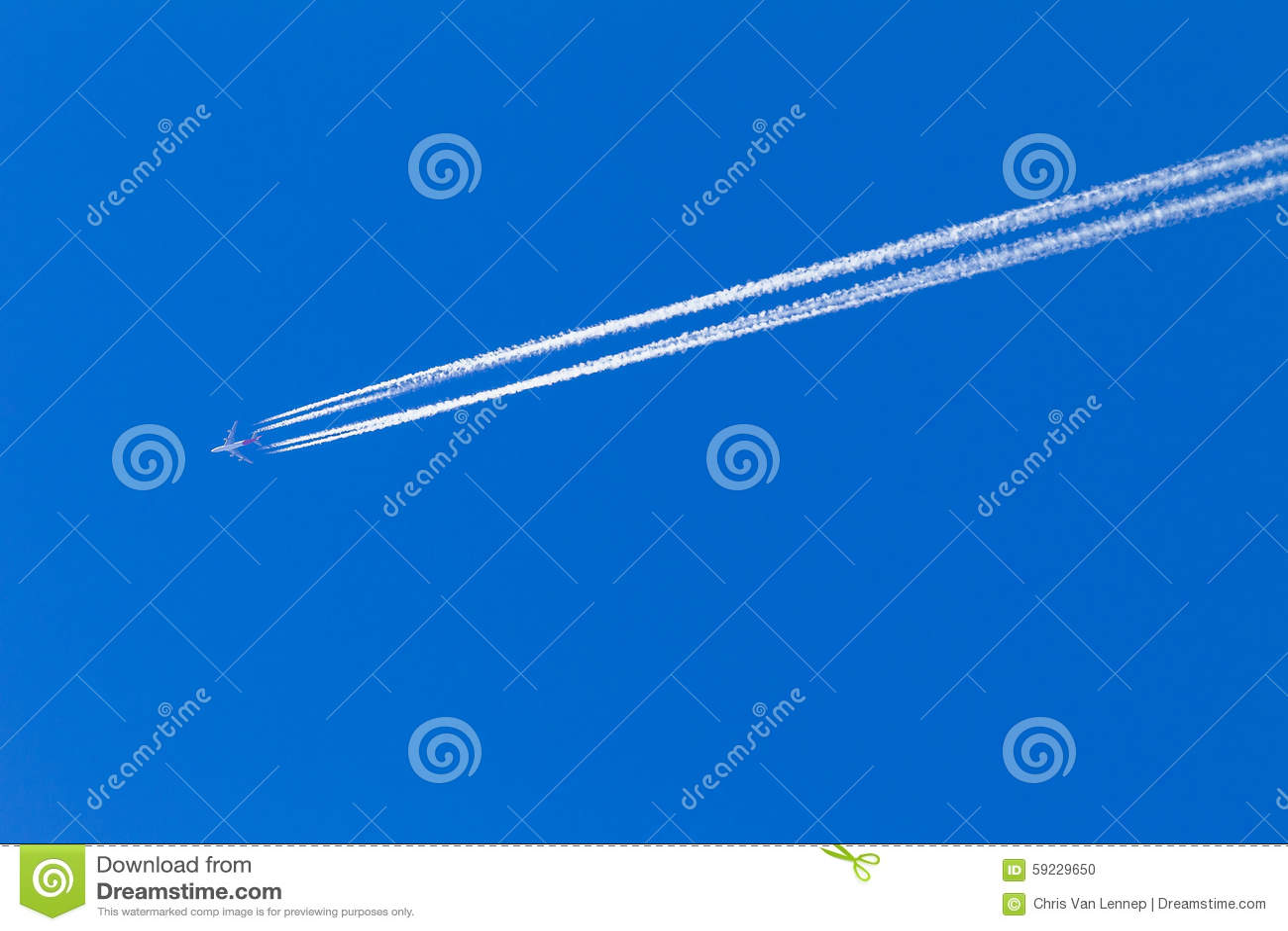 Vapor azul plano