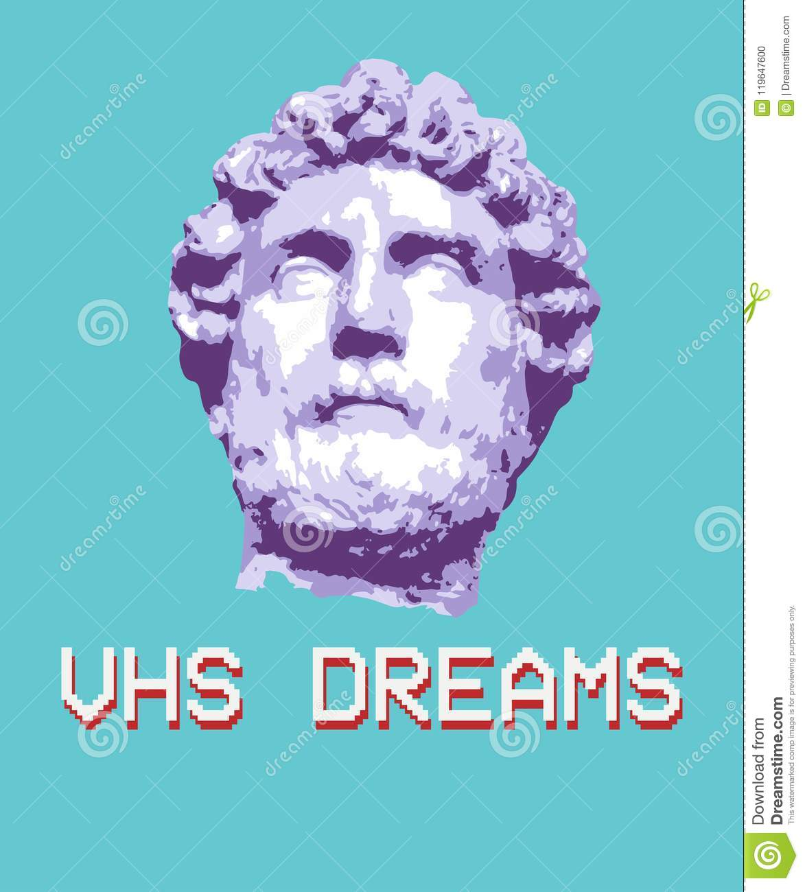 Vaporwave Aesthetic T Shirt Illustration Typography Slogan Vector