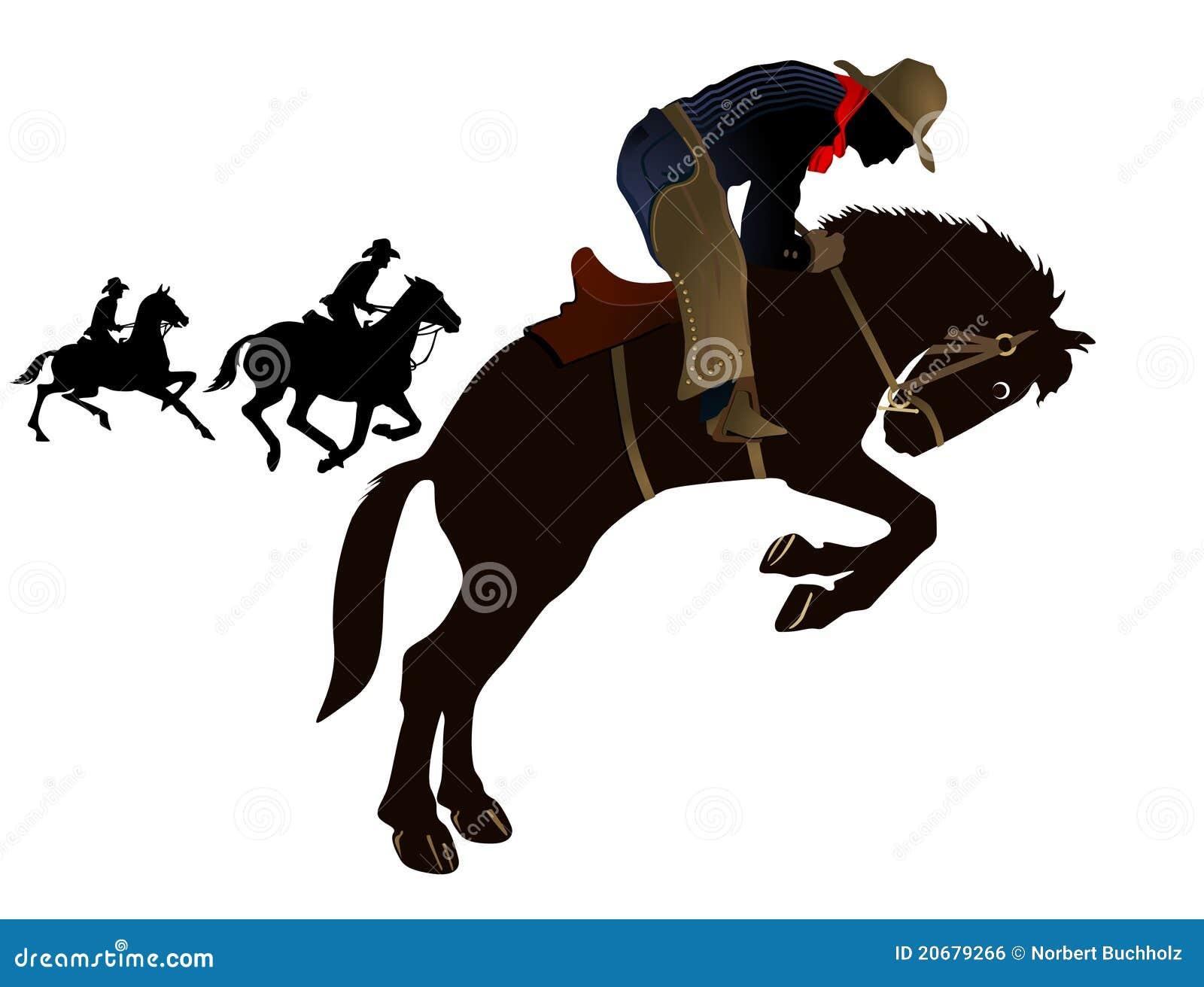 Vaqueros del rodeo