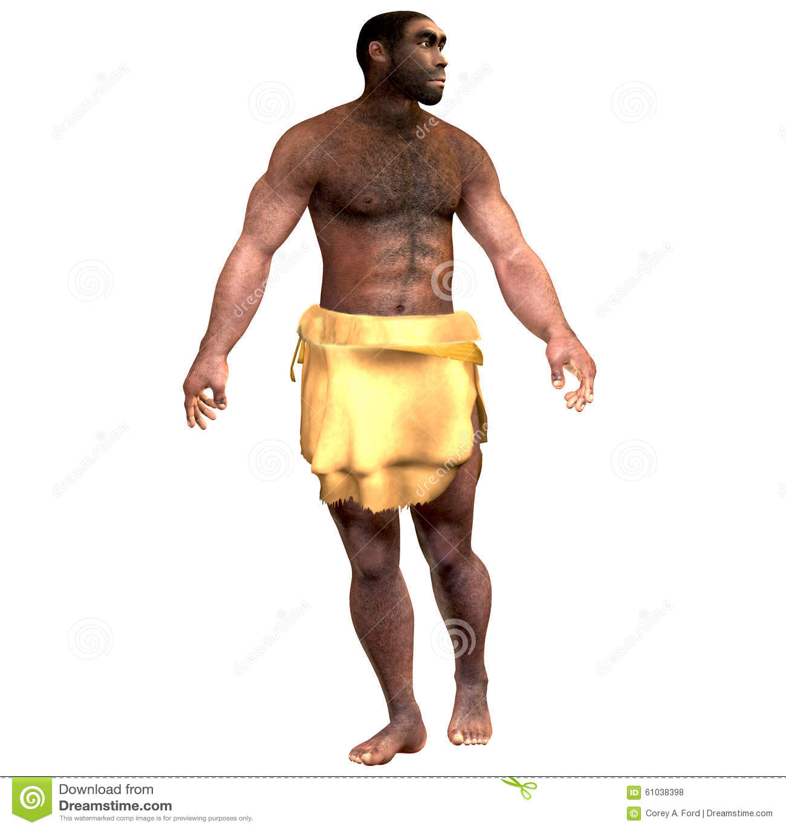 Varón de homo erectus