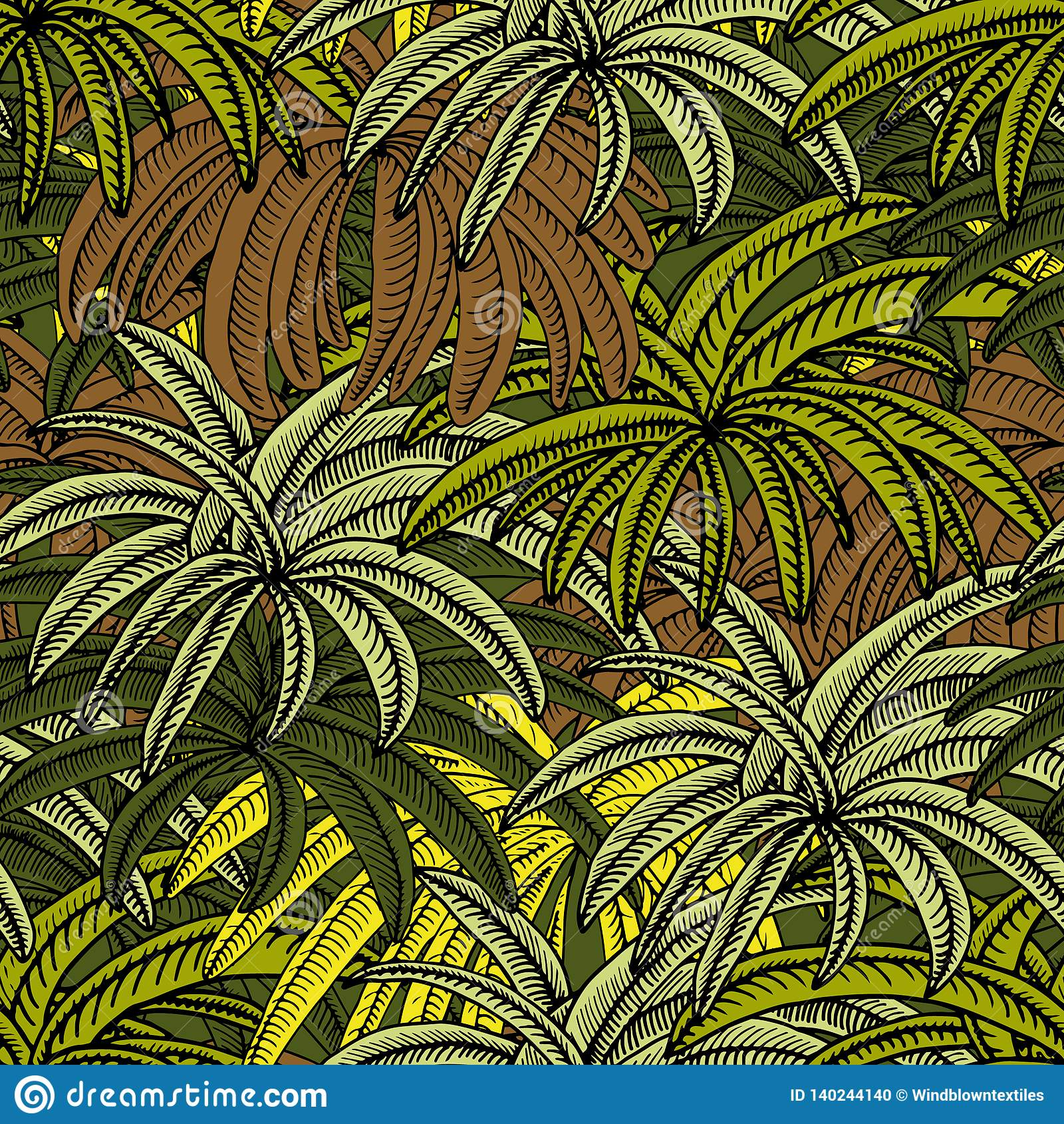 Var palmträden är