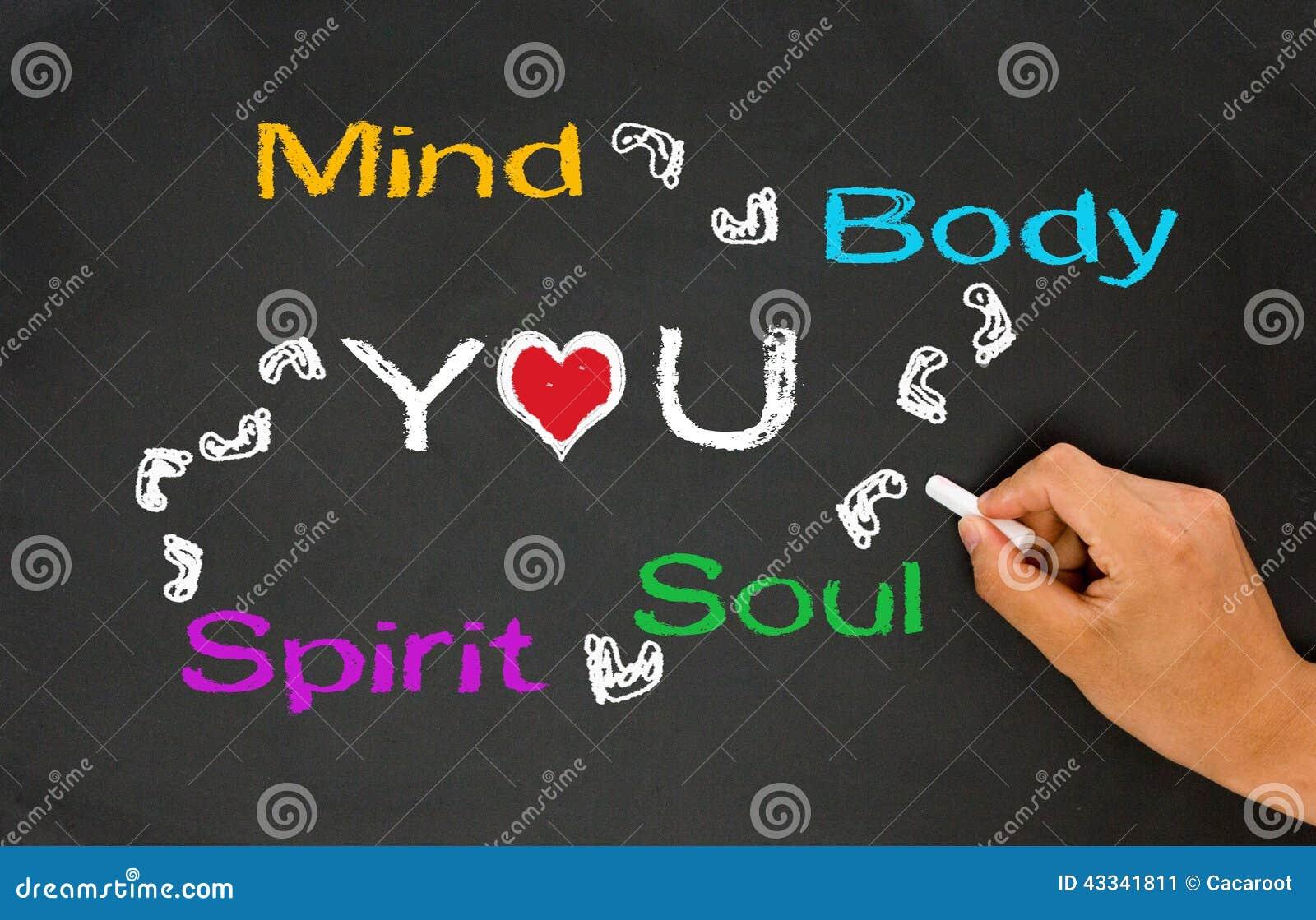 Vara besvärad, förkroppsliga, anda, anden och dig