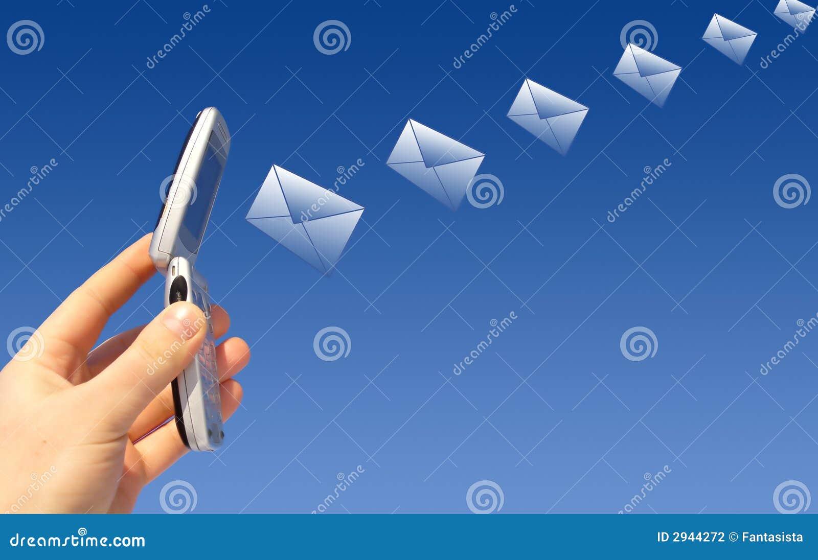 Vara e-post överförd radio