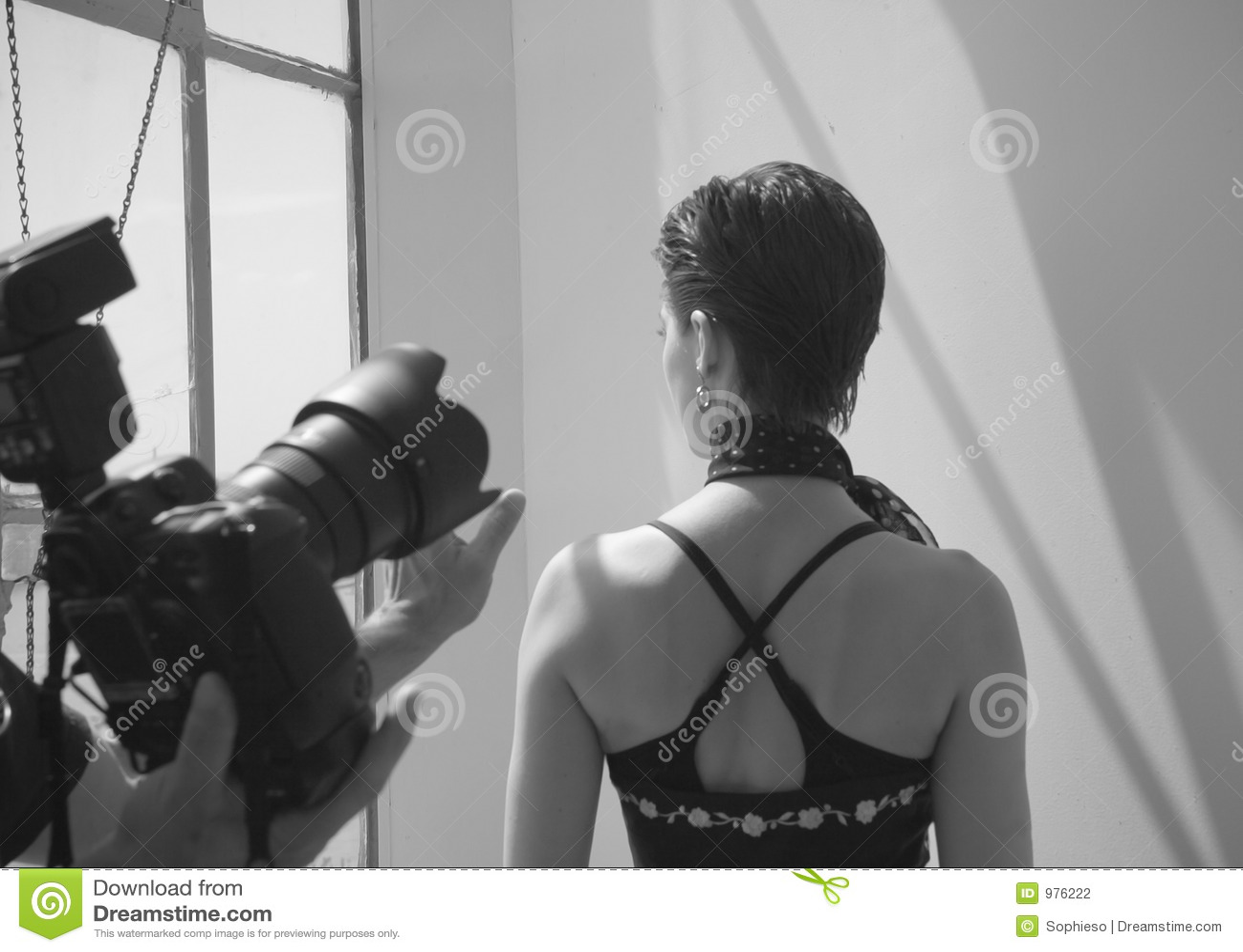Vara poserad model fotograf
