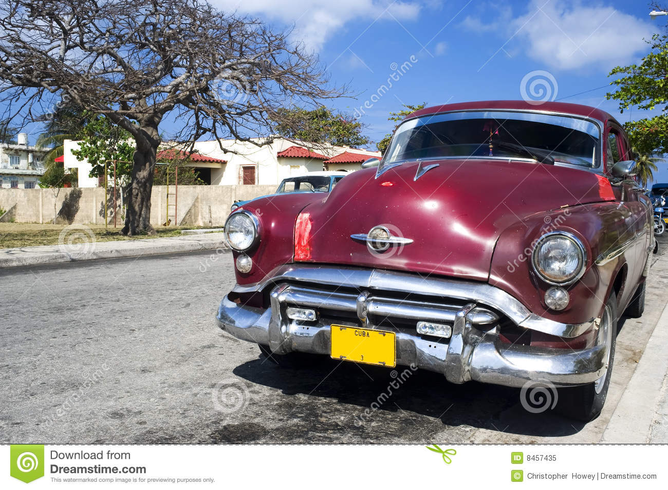 Old Car Stock Image. Image Of Street