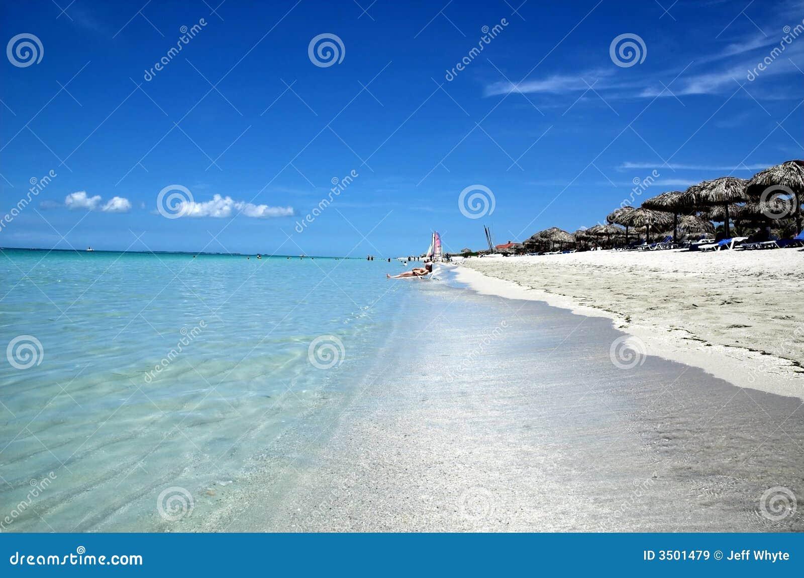 Varadero stranden, Cuba