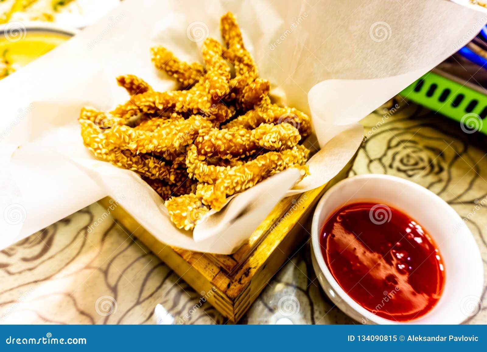 Varas chinesas da galinha