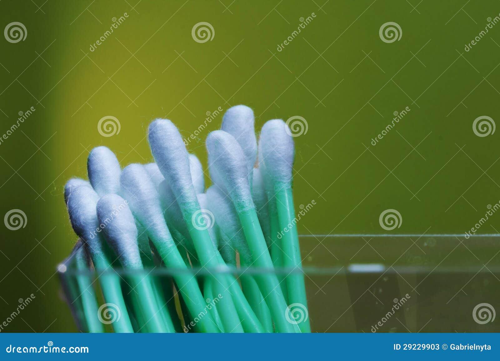 Download Varas do algodão imagem de stock. Imagem de saudável - 29229903