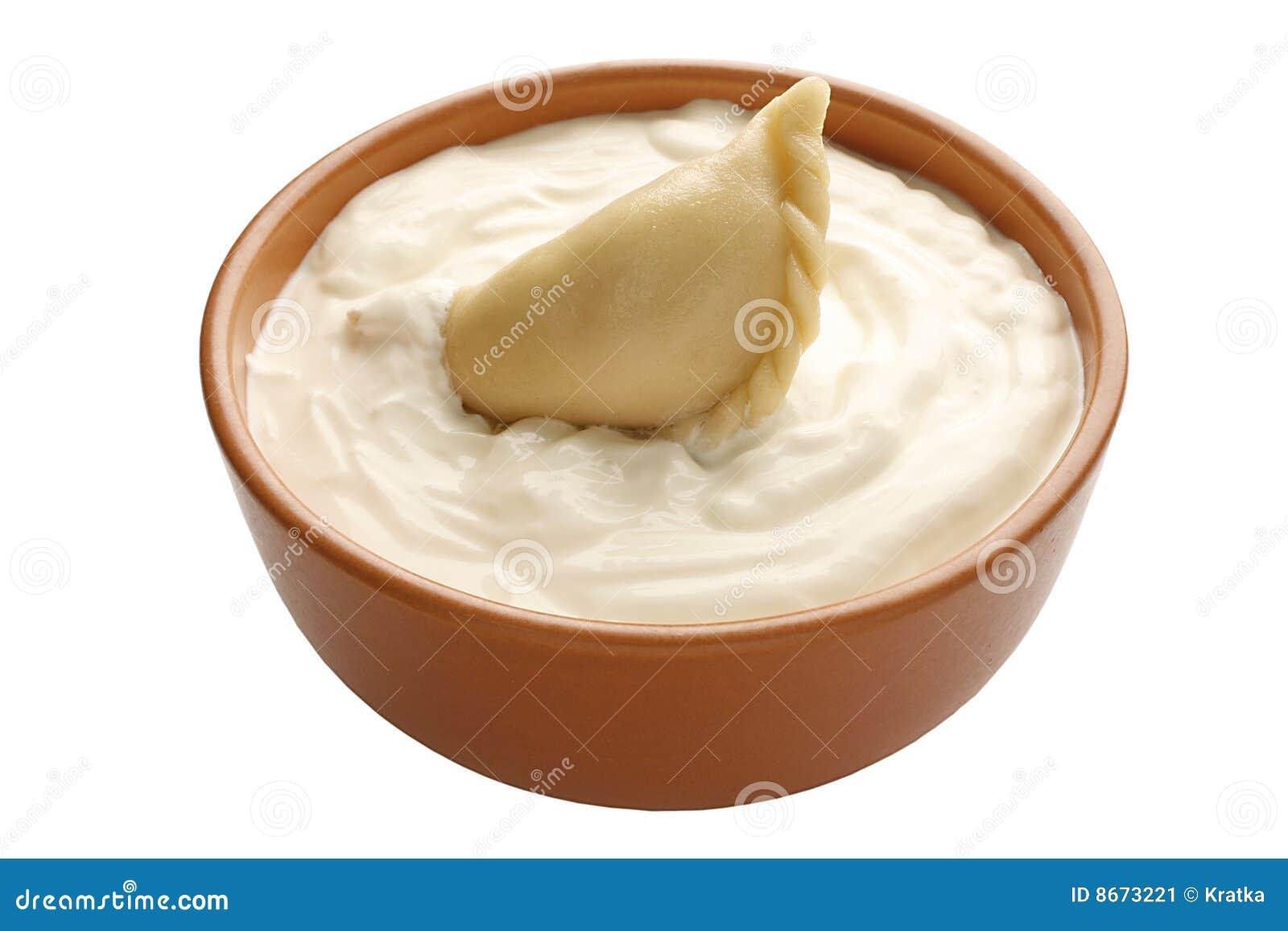 Varenik aigre crème de cuvette