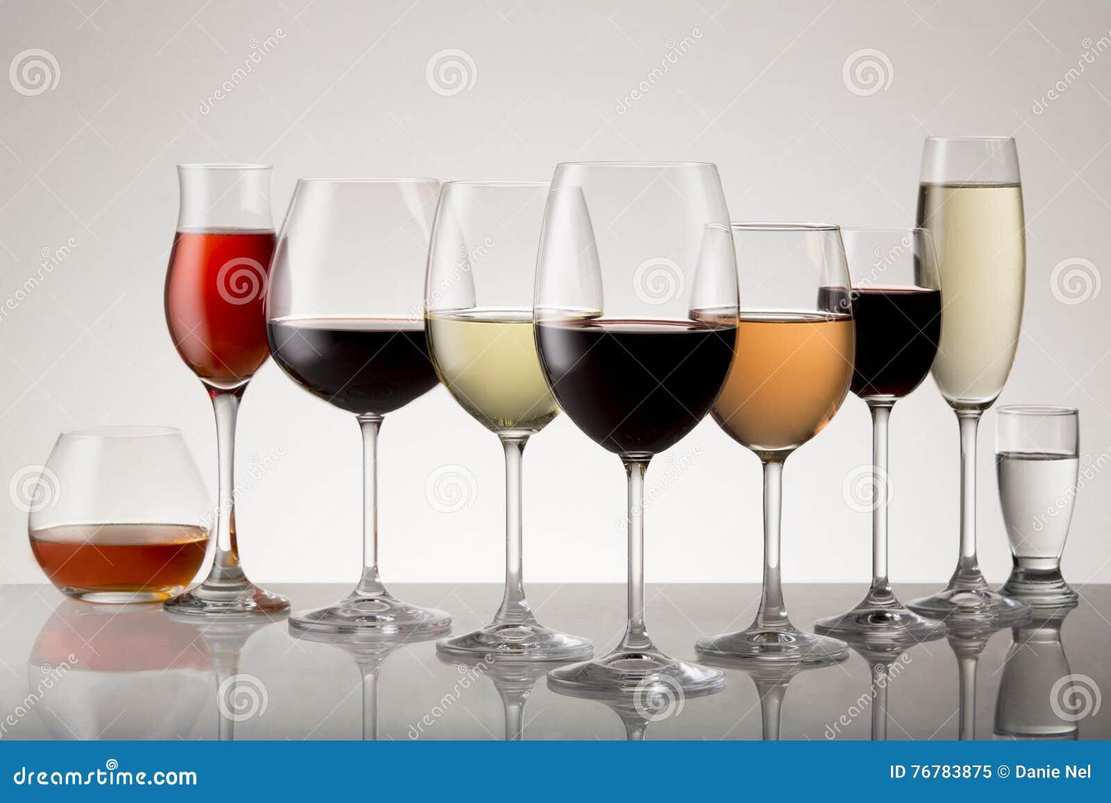 Variété de boissons alcoolisées