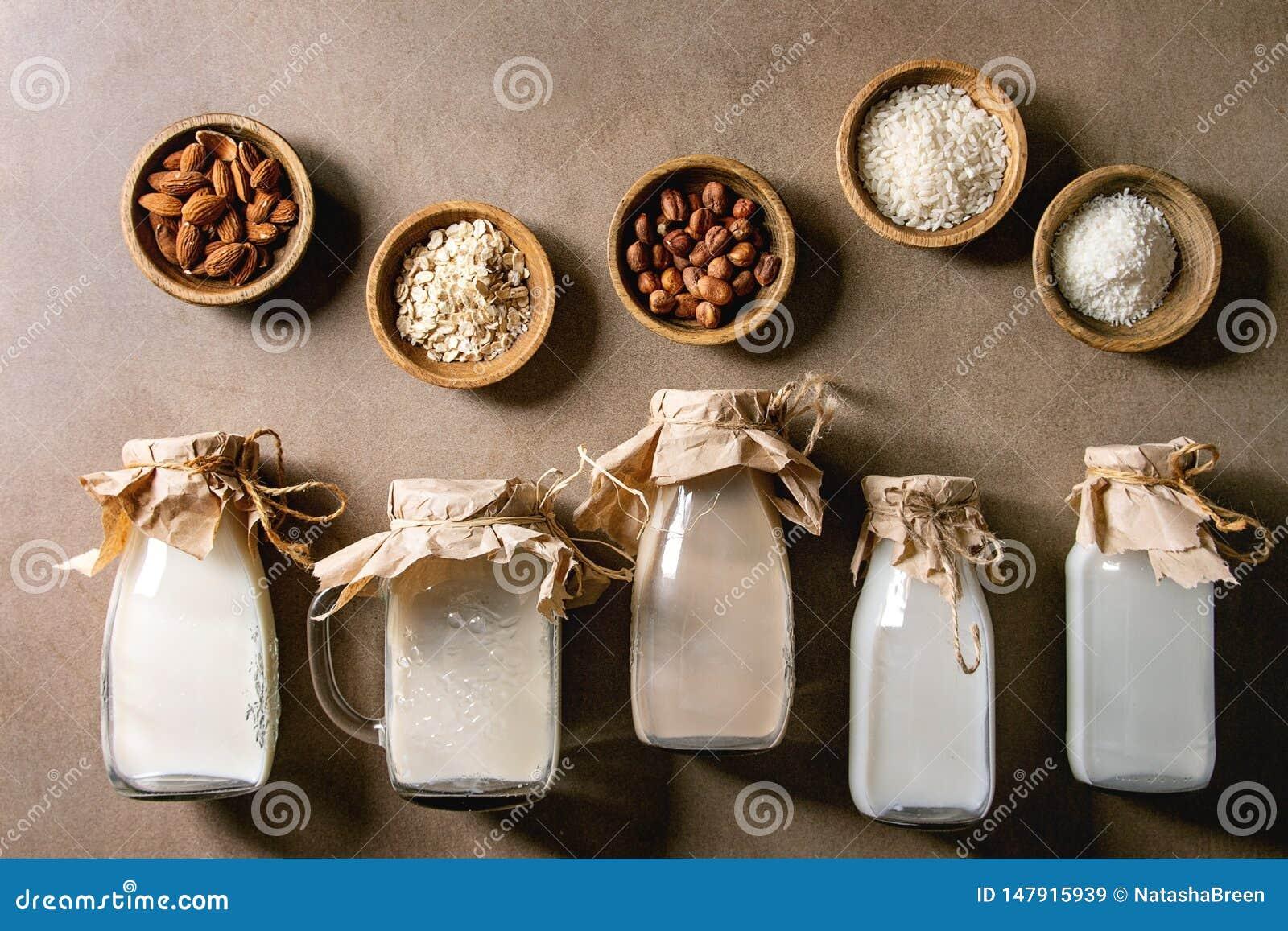 Vari?t? de lait sans aucun produit laitier