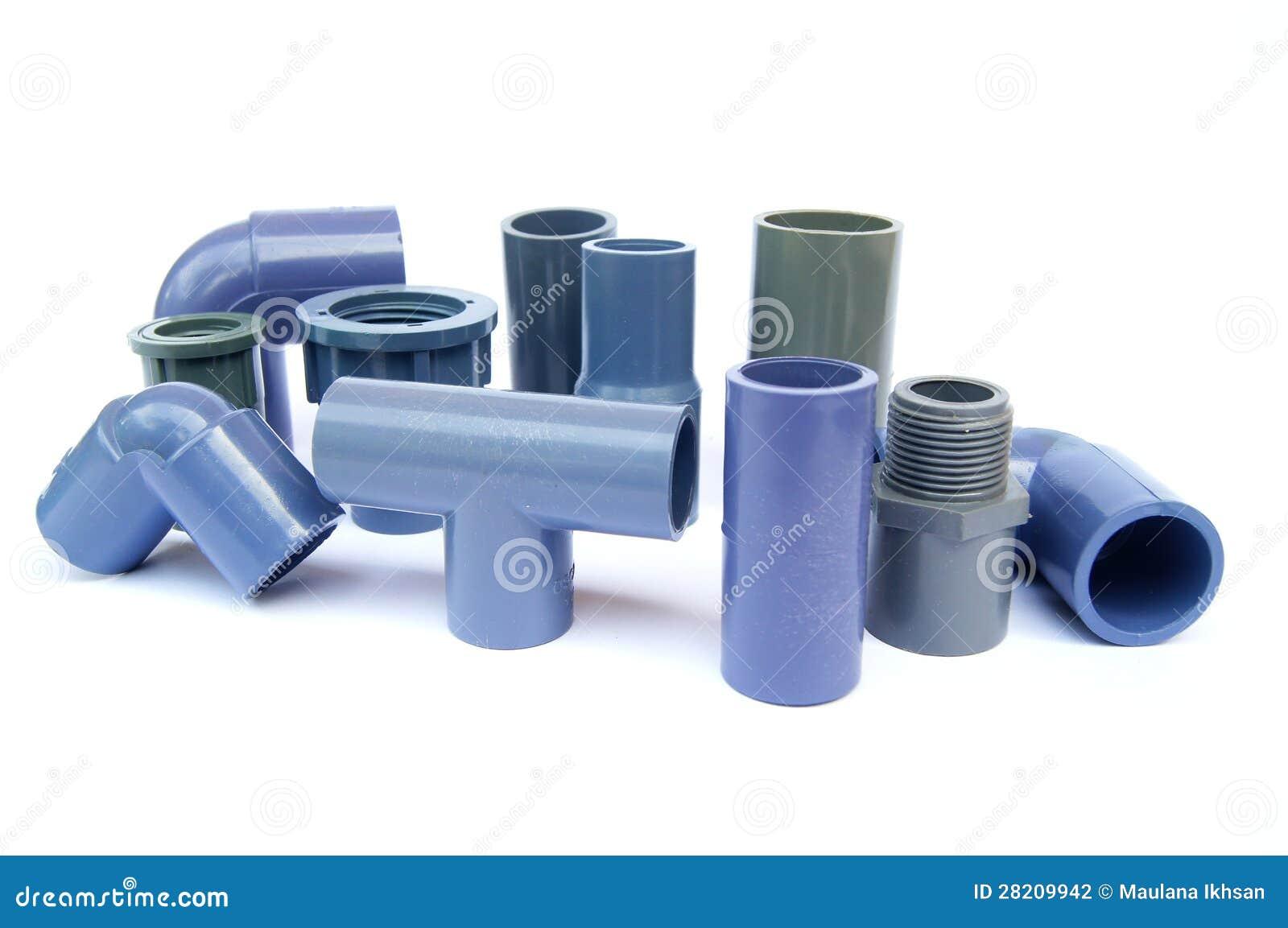 Vari tipi di accessori per tubi