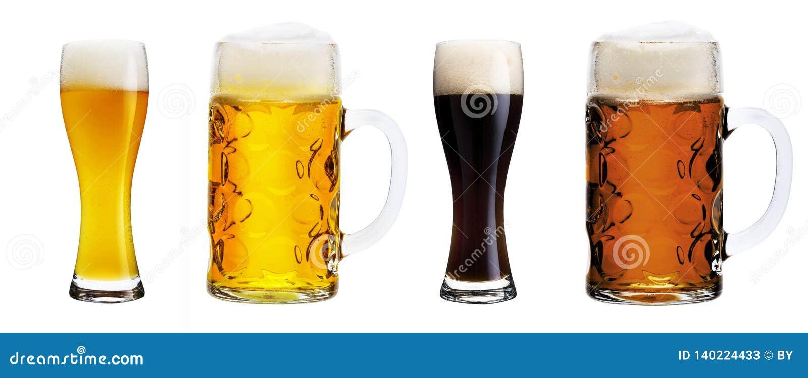 Vari vetri di birra