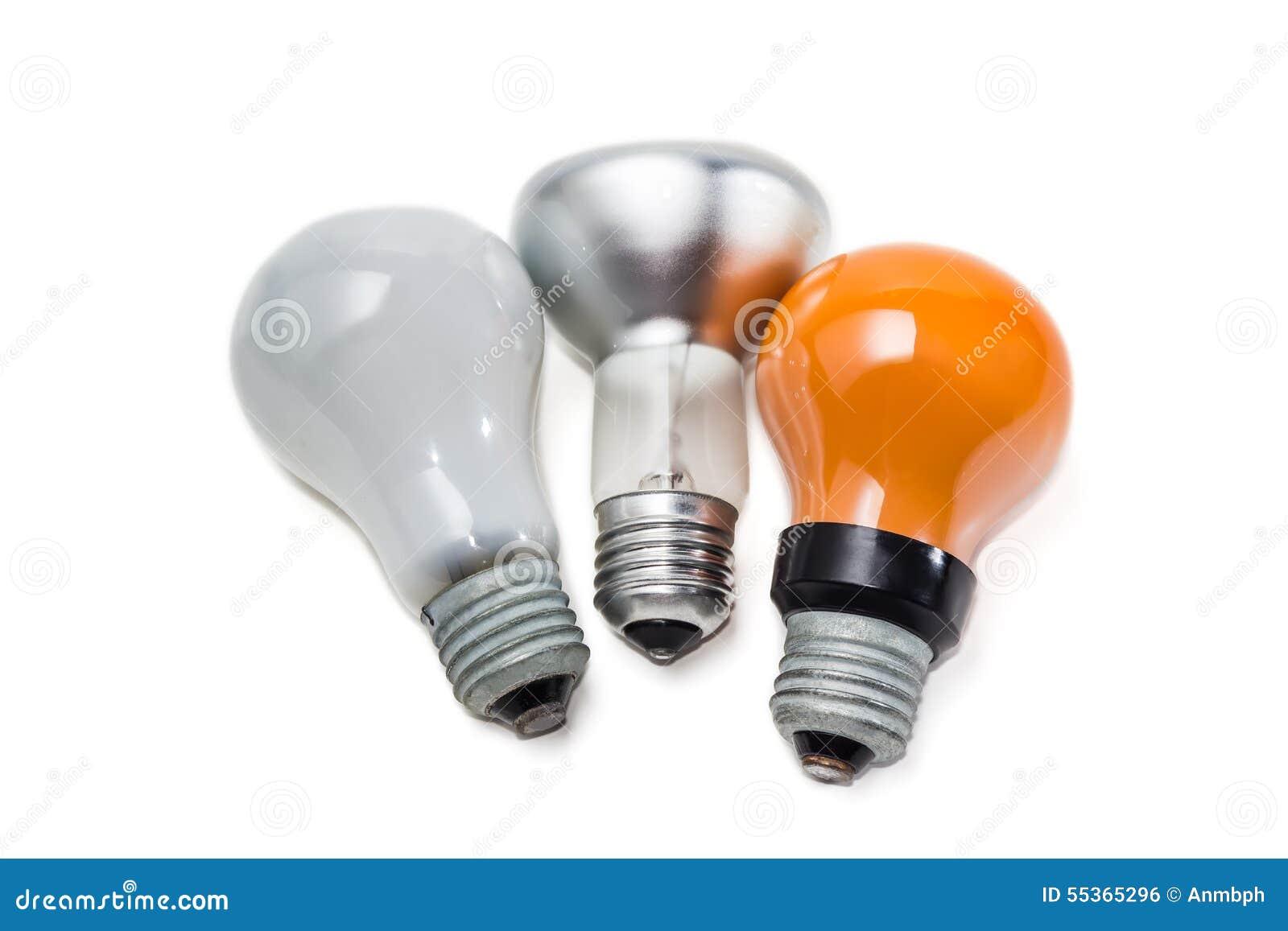 Varia lampada incandescente elettrica