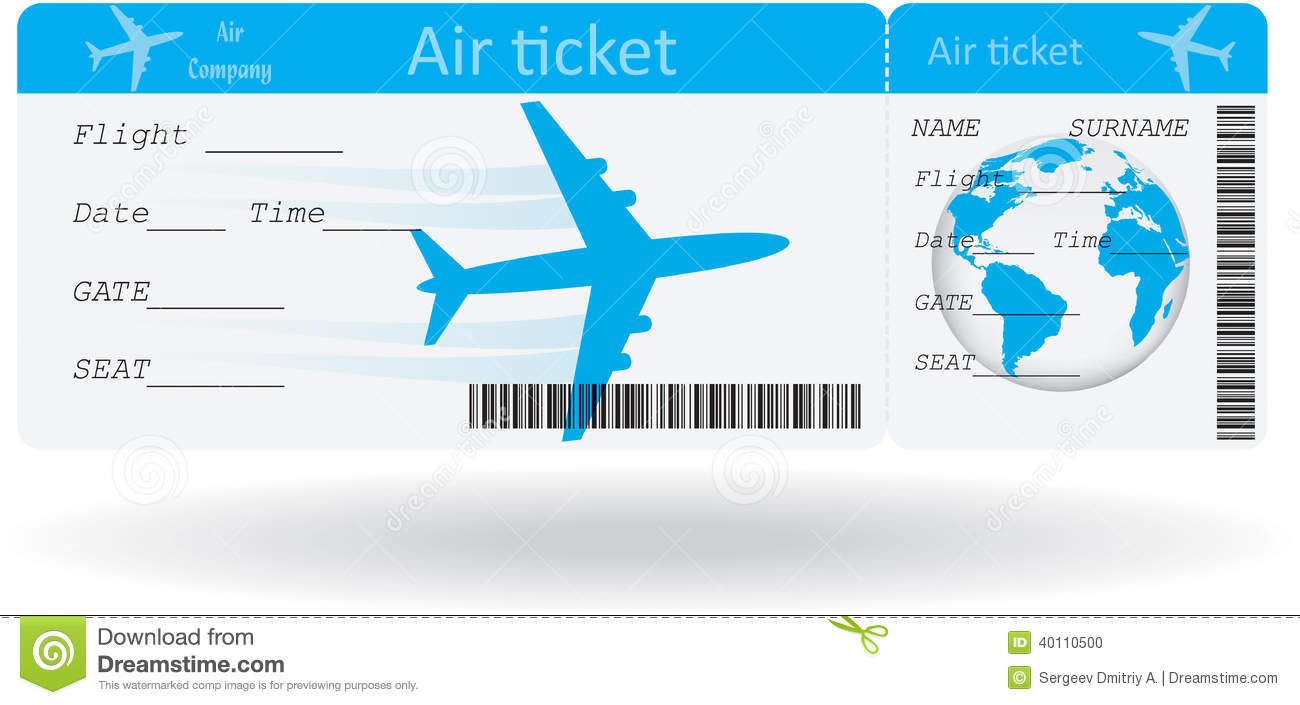 Marvelous Champlain College Publishing Idea Airline Ticket Template Free
