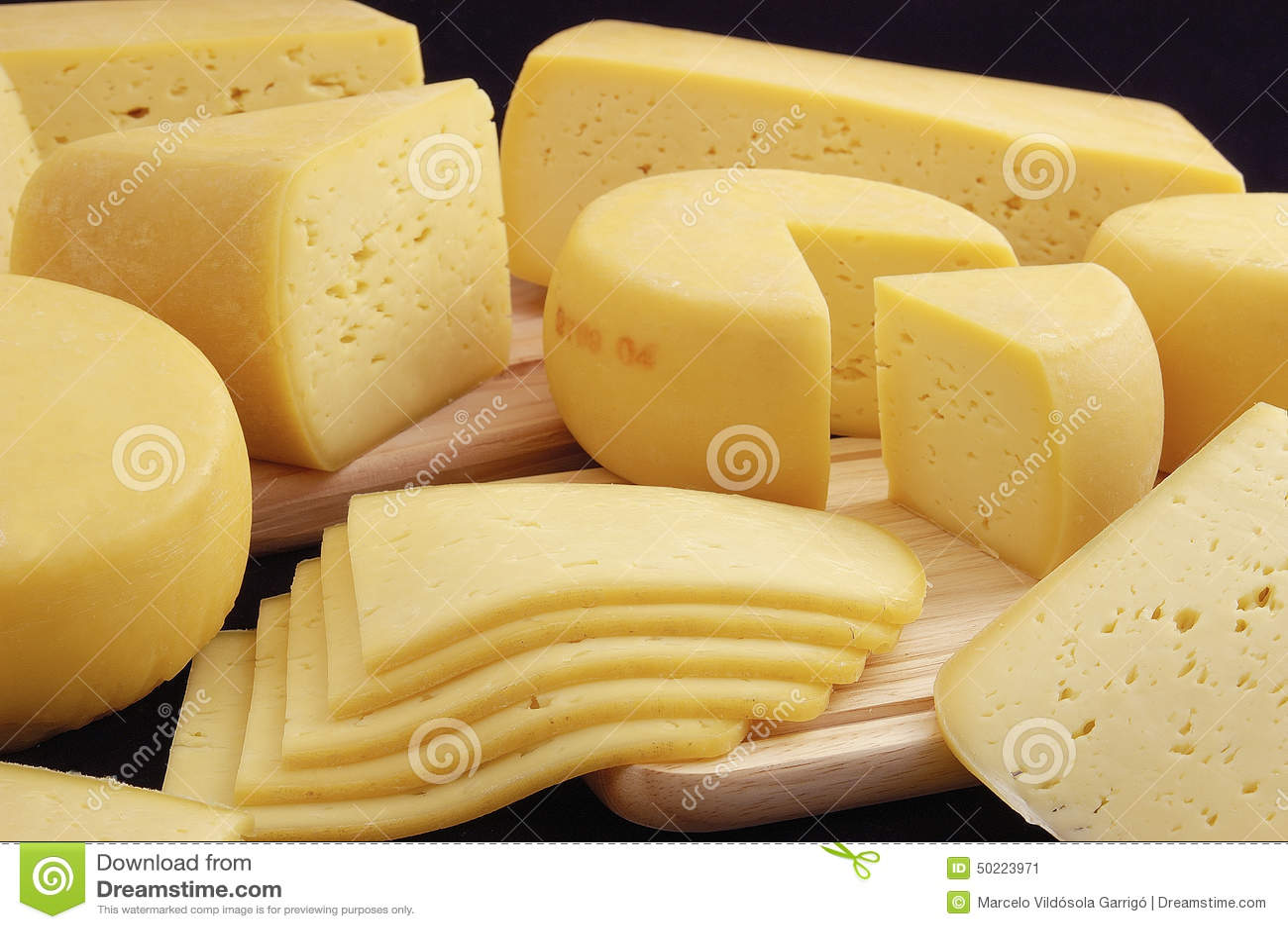Variation av ost