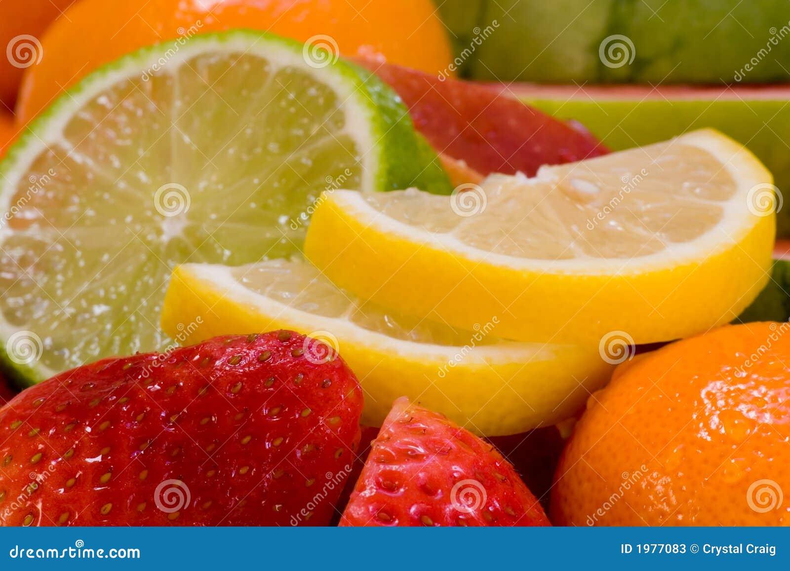 Variedade da fruta fresca