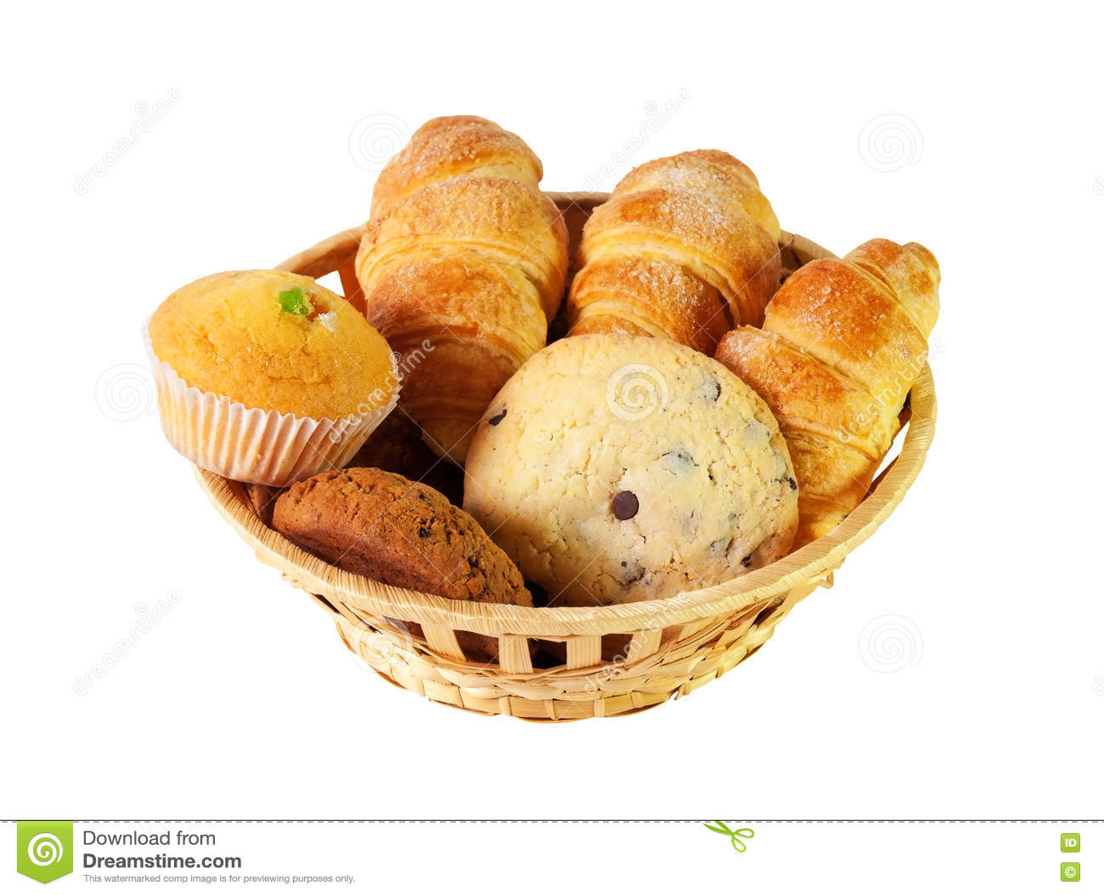Variedade das pastelarias e das cookies Foco seletivo