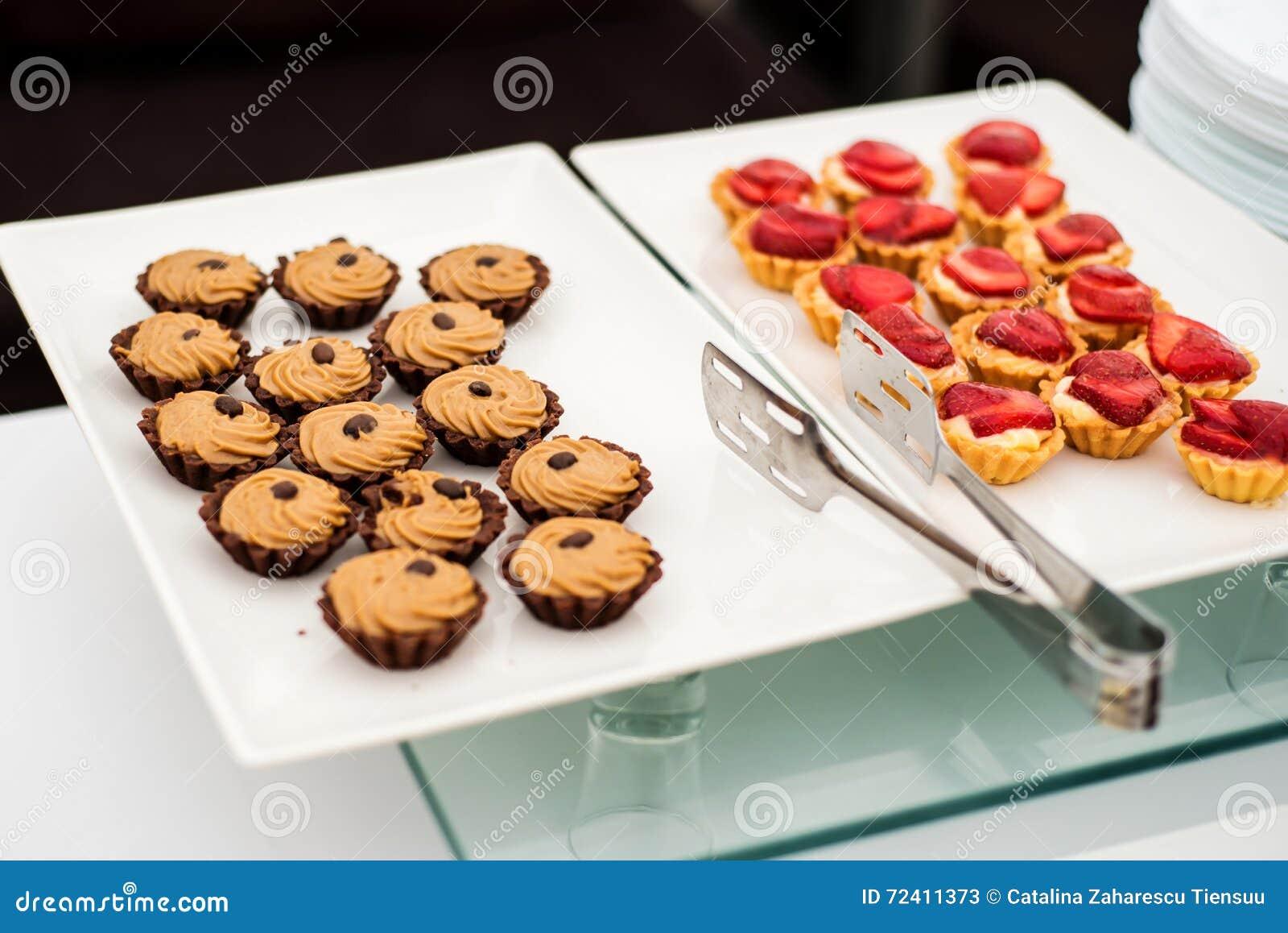 Variedade de doces