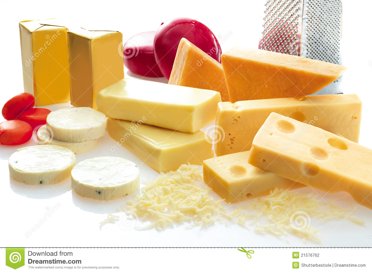 Variety Of Cheese Stock Photography Image 21576762