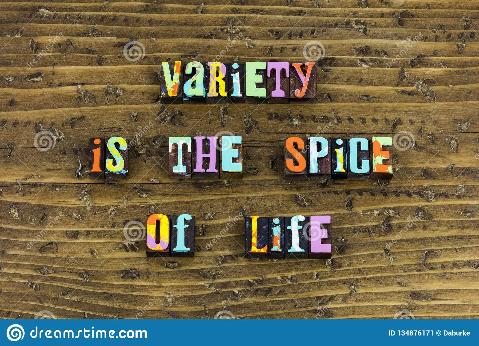 Variety spice life change experience