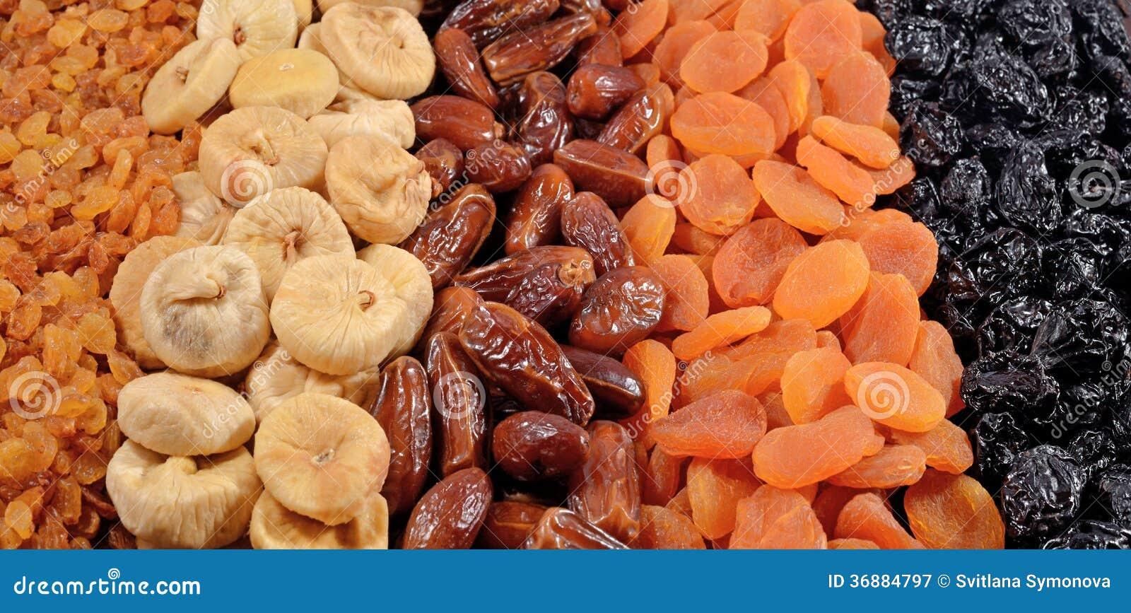Download Vario Fondo Secco Di Frutti Immagine Stock - Immagine di albicocche, alimento: 36884797