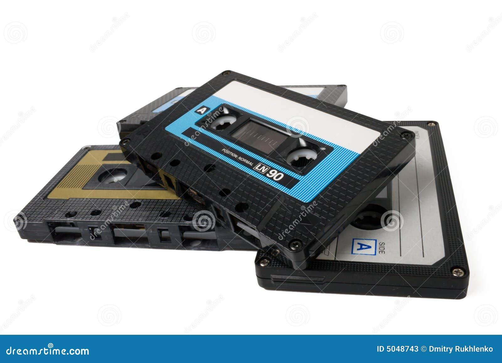 Varios cassettes audios