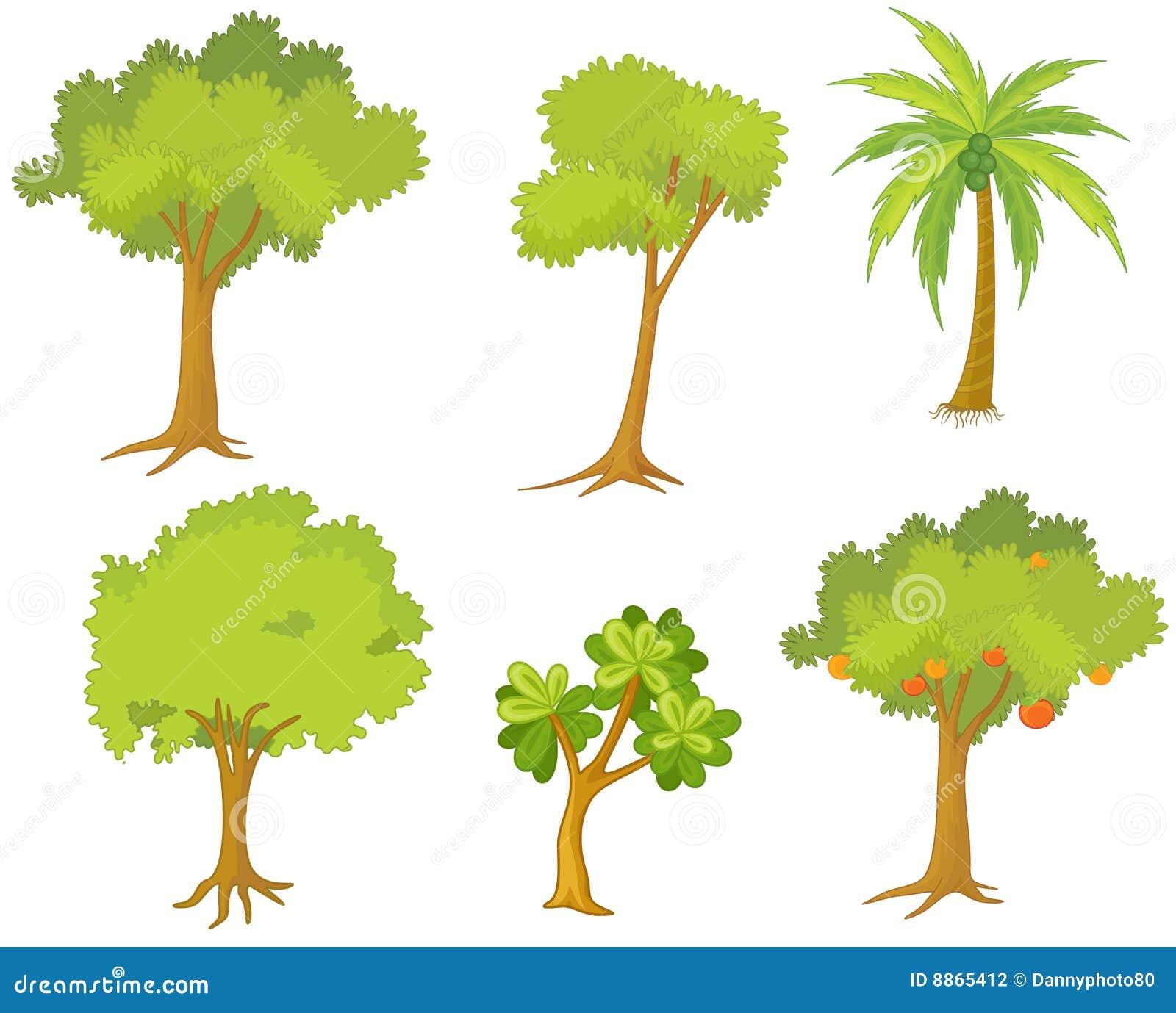 Varios rboles y plantas fotograf a de archivo imagen for Plantas y arbustos de exterior
