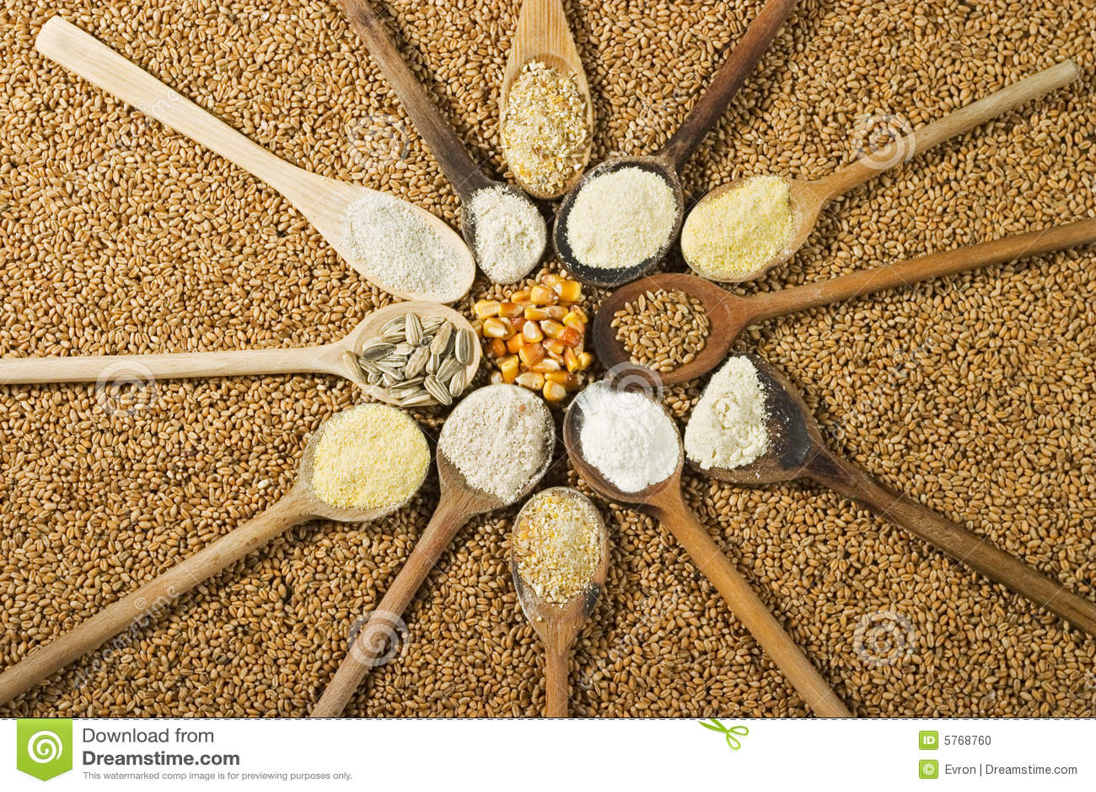 Tipos de harina