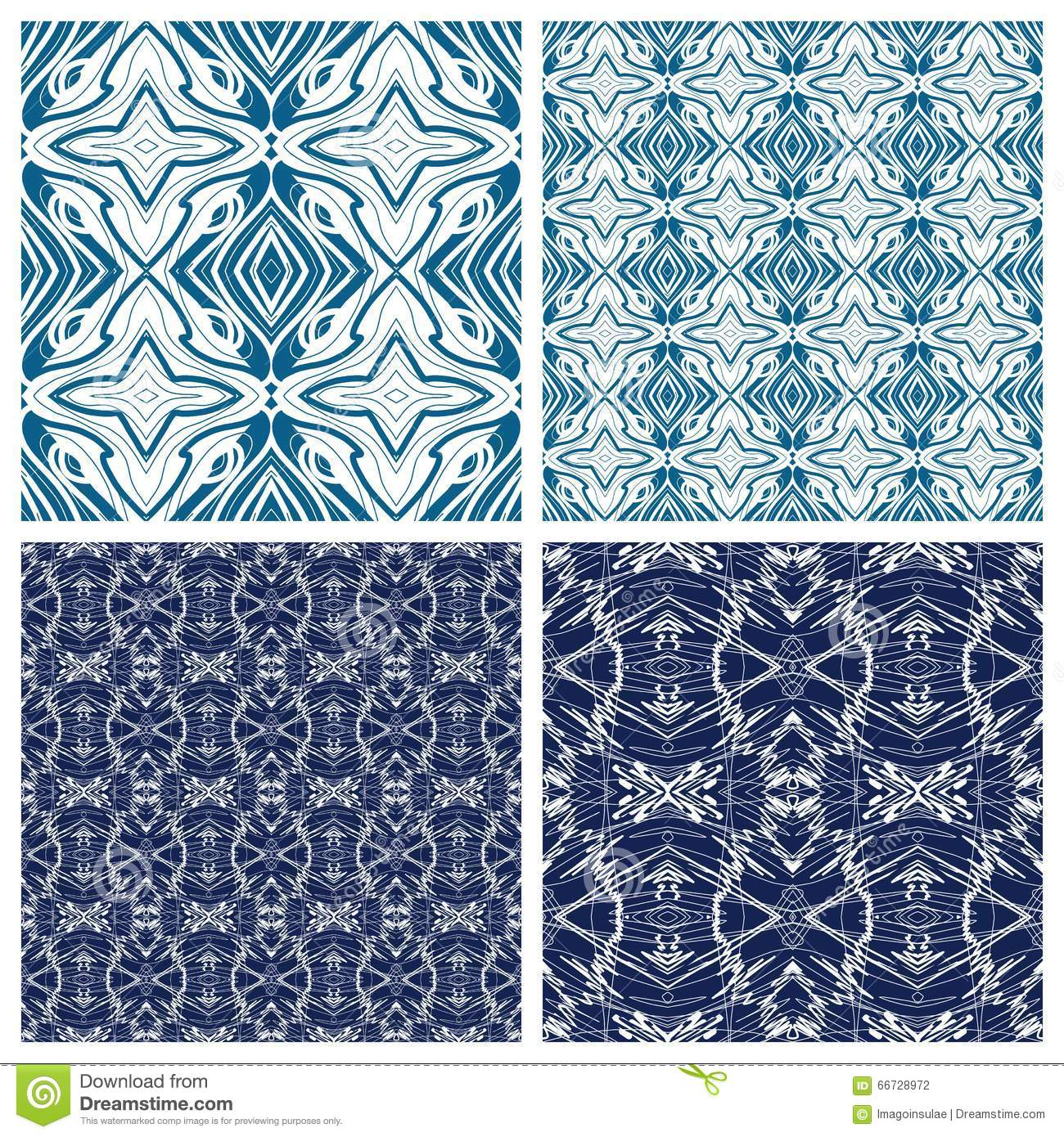 Various abstract patterns