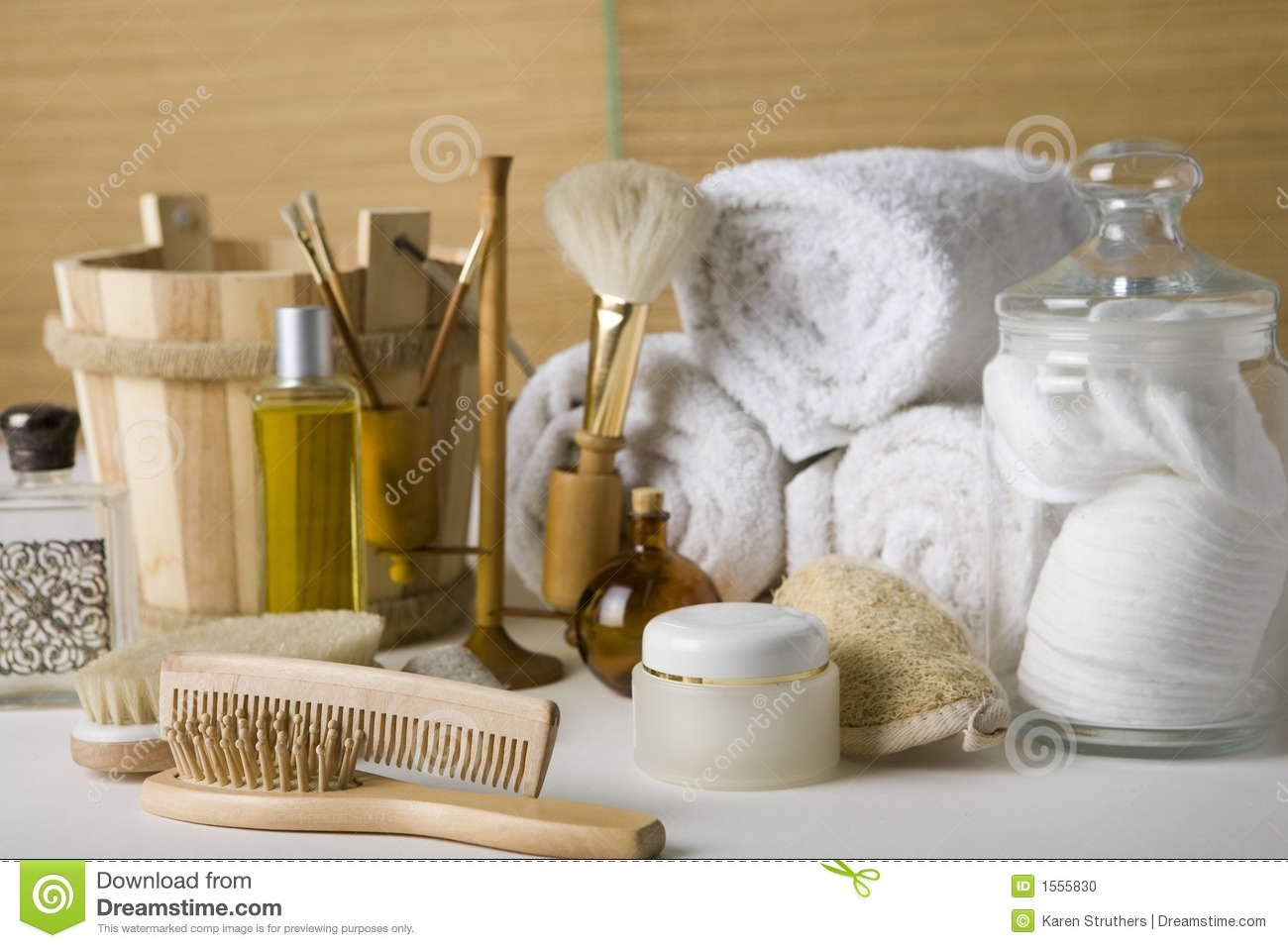 various bathroom products stock photo image 1555830