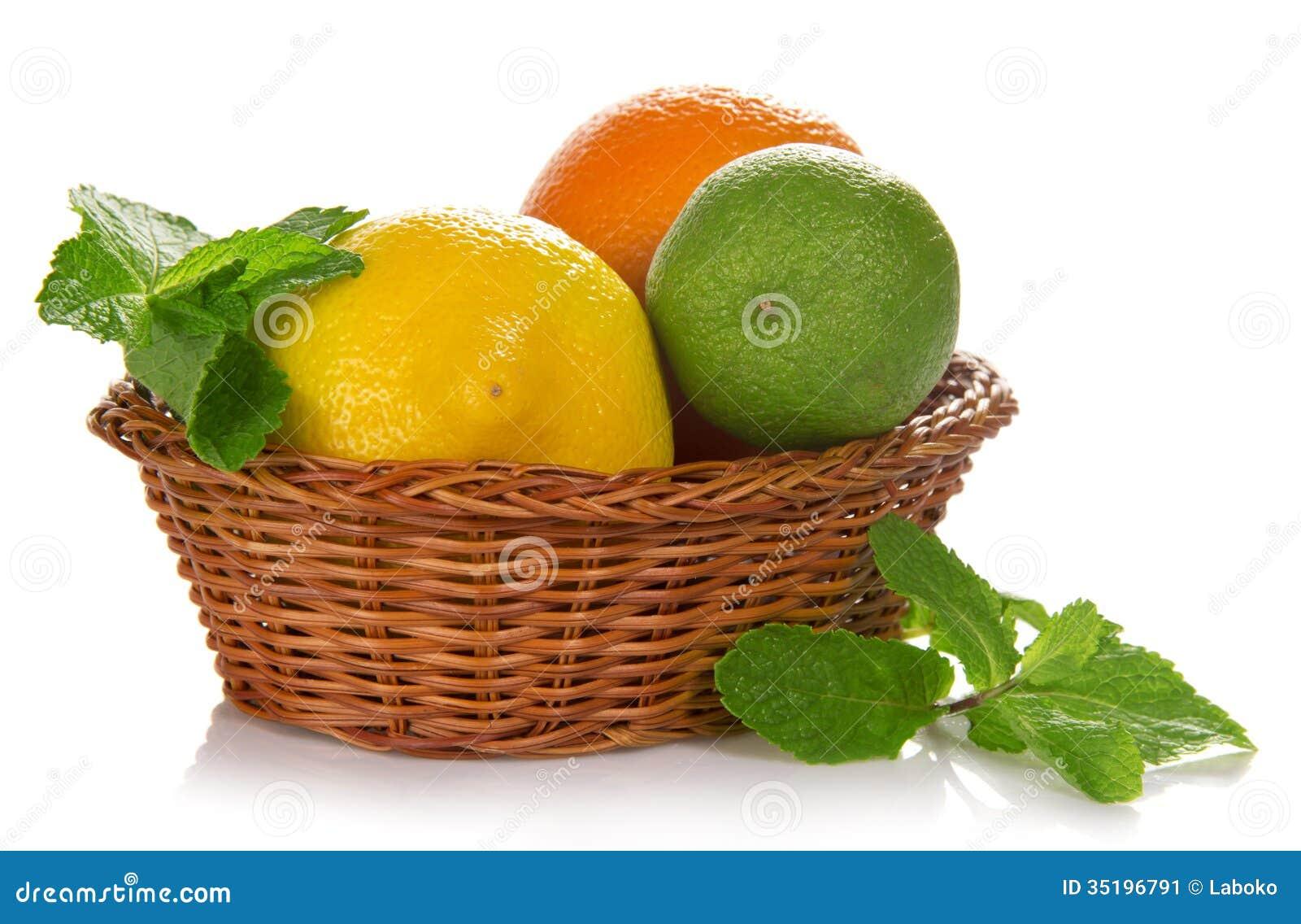 Fruits basket lemon threesome