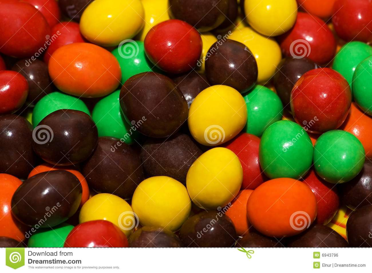 Chocolate coated candy chocolate pattern chocolate background - Various Colourful Sweets Royalty Free Stock Image Image